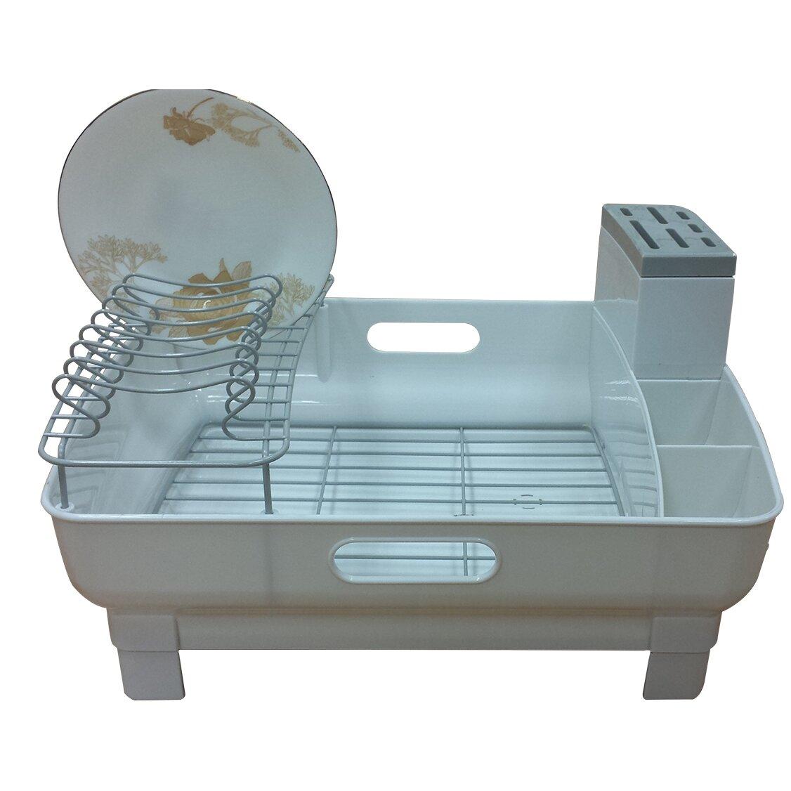 Drain Racks For Kitchen Sinks Dish Racks Drainers Youll Love Wayfair