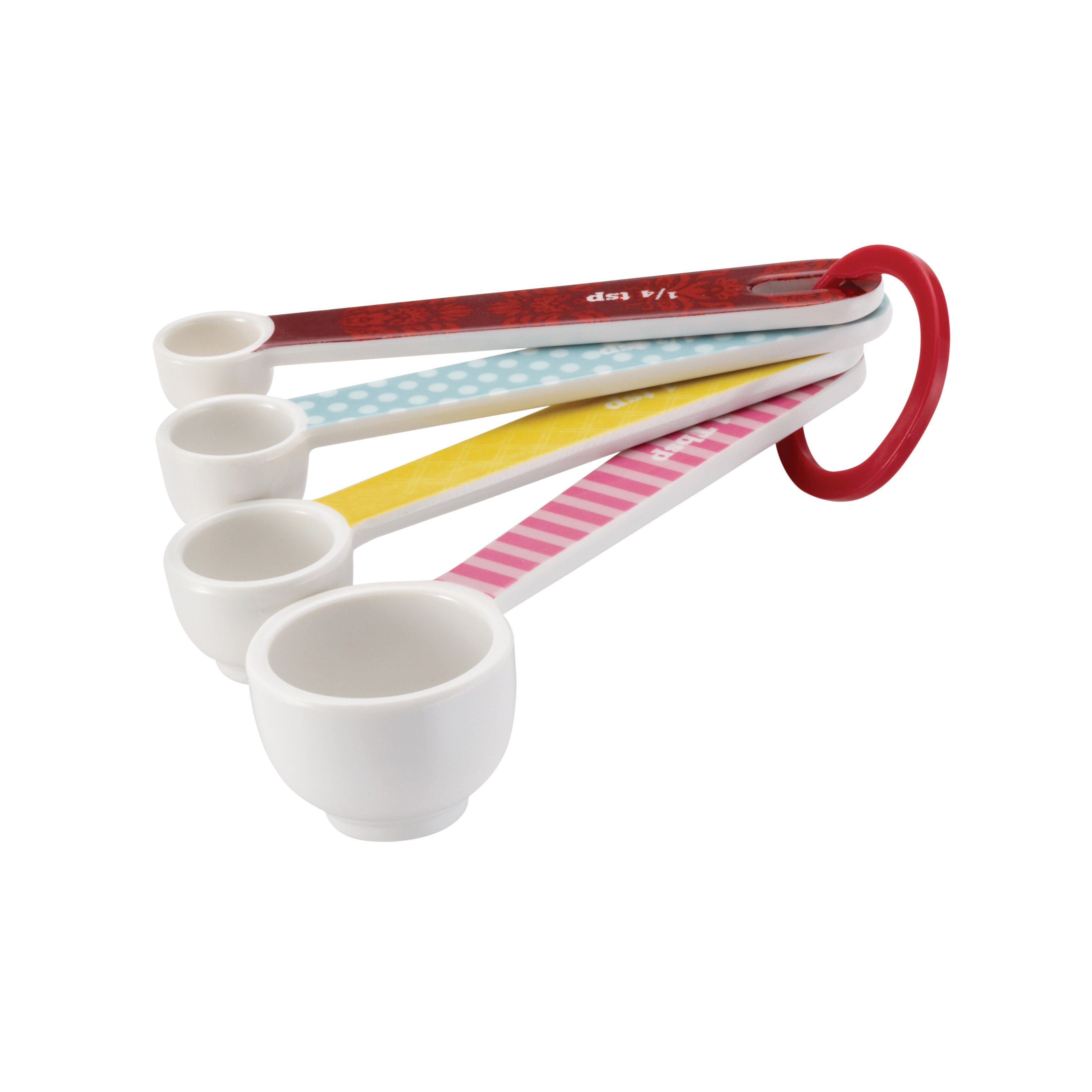 Decorative Measuring Spoons And Cups Cake Boss 8 Piece Measuring Cup Spoon Set Reviews Wayfair