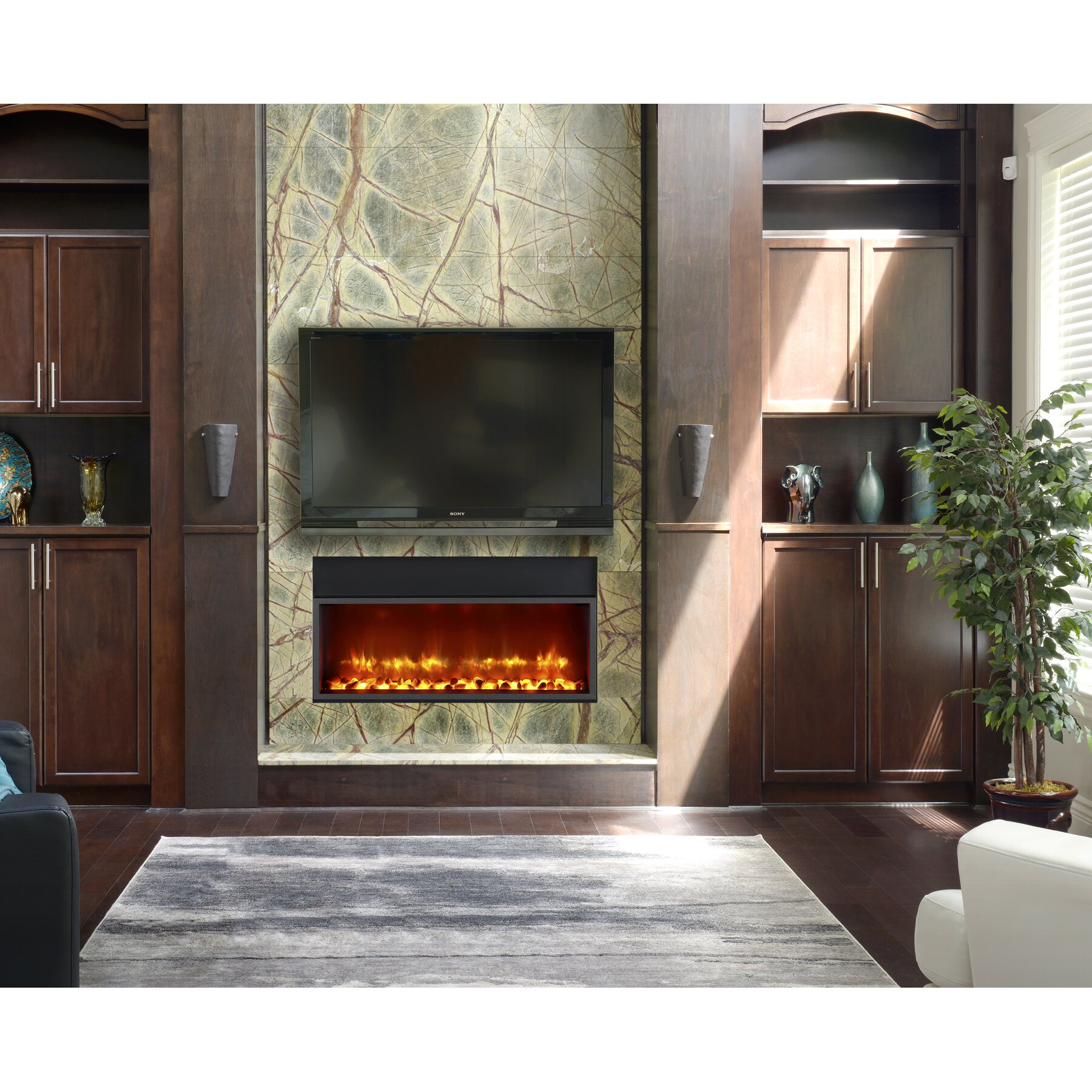 Built In Electric Fireplace ~ dact.us