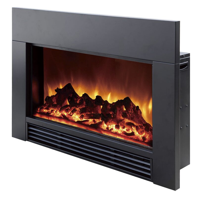 Dynasty Fireplaces Electric Wall Mount Fireplace Insert - Dynasty Electric Wall Mount Fireplace Insert & Reviews Wayfair