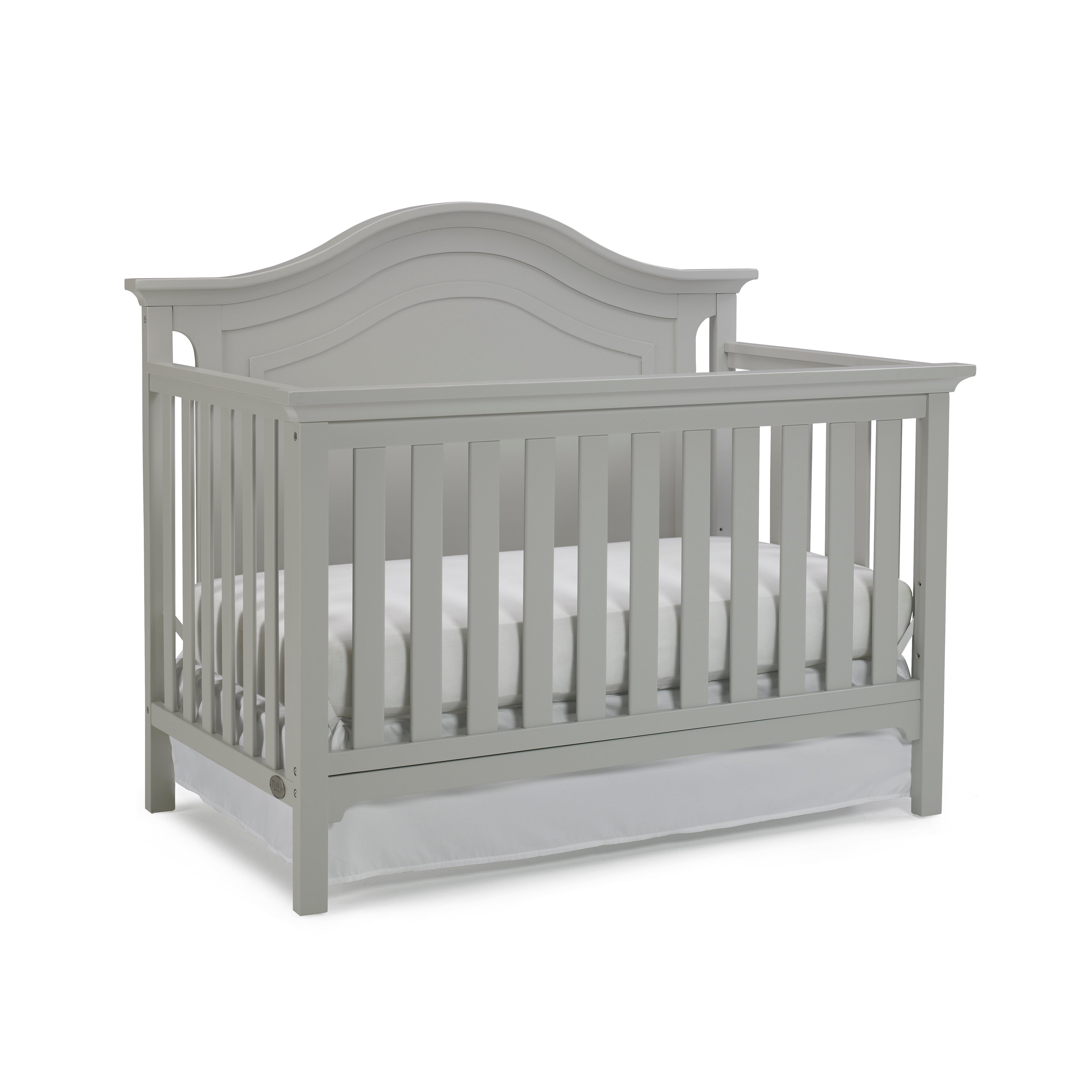 Crib for sale - Grey Crib For Sale Ti Amo Catania 4 In 1 Convertible Crib