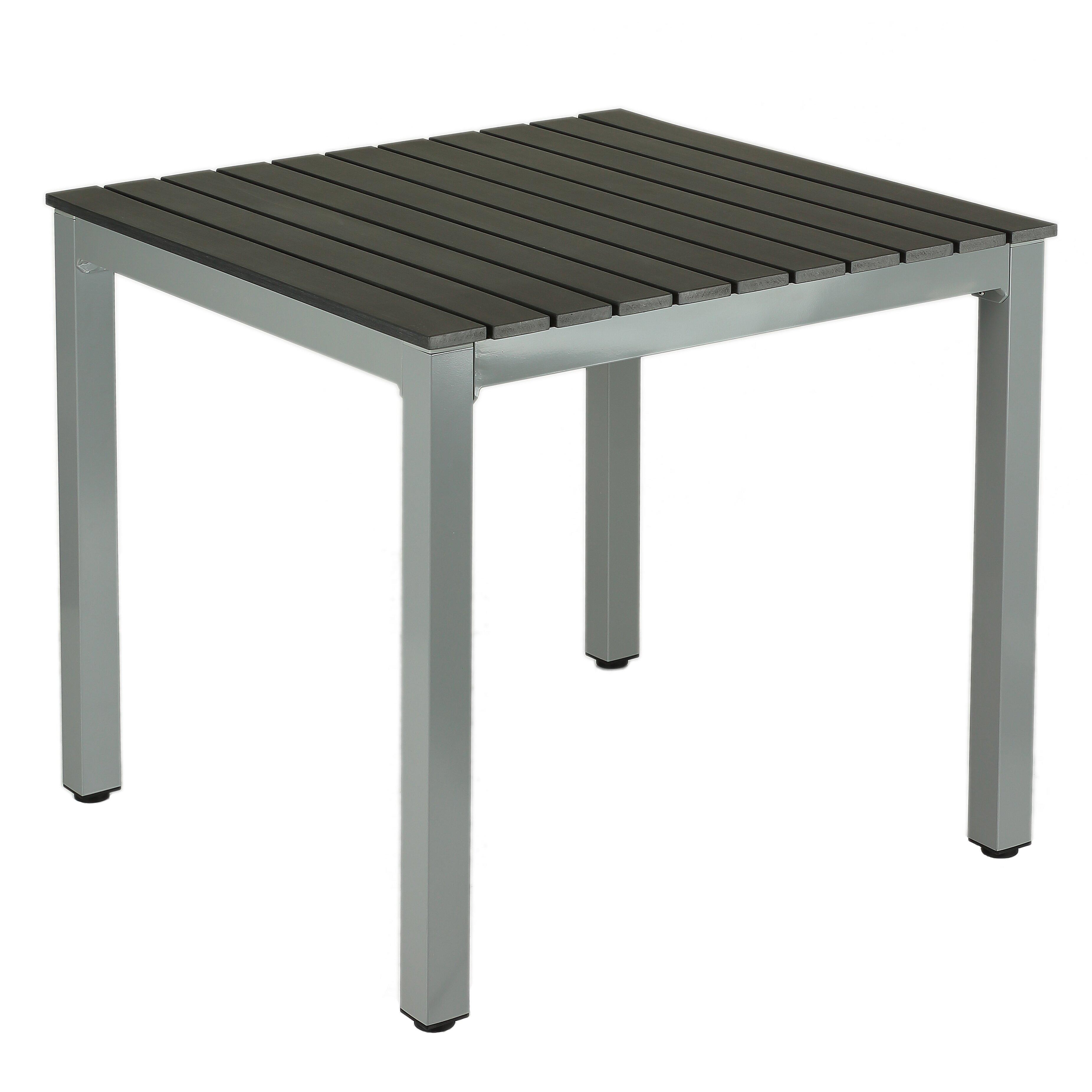 Aluminum Outdoor Dining Table Cortesi Home Jaxon Dining Table Reviews Wayfair
