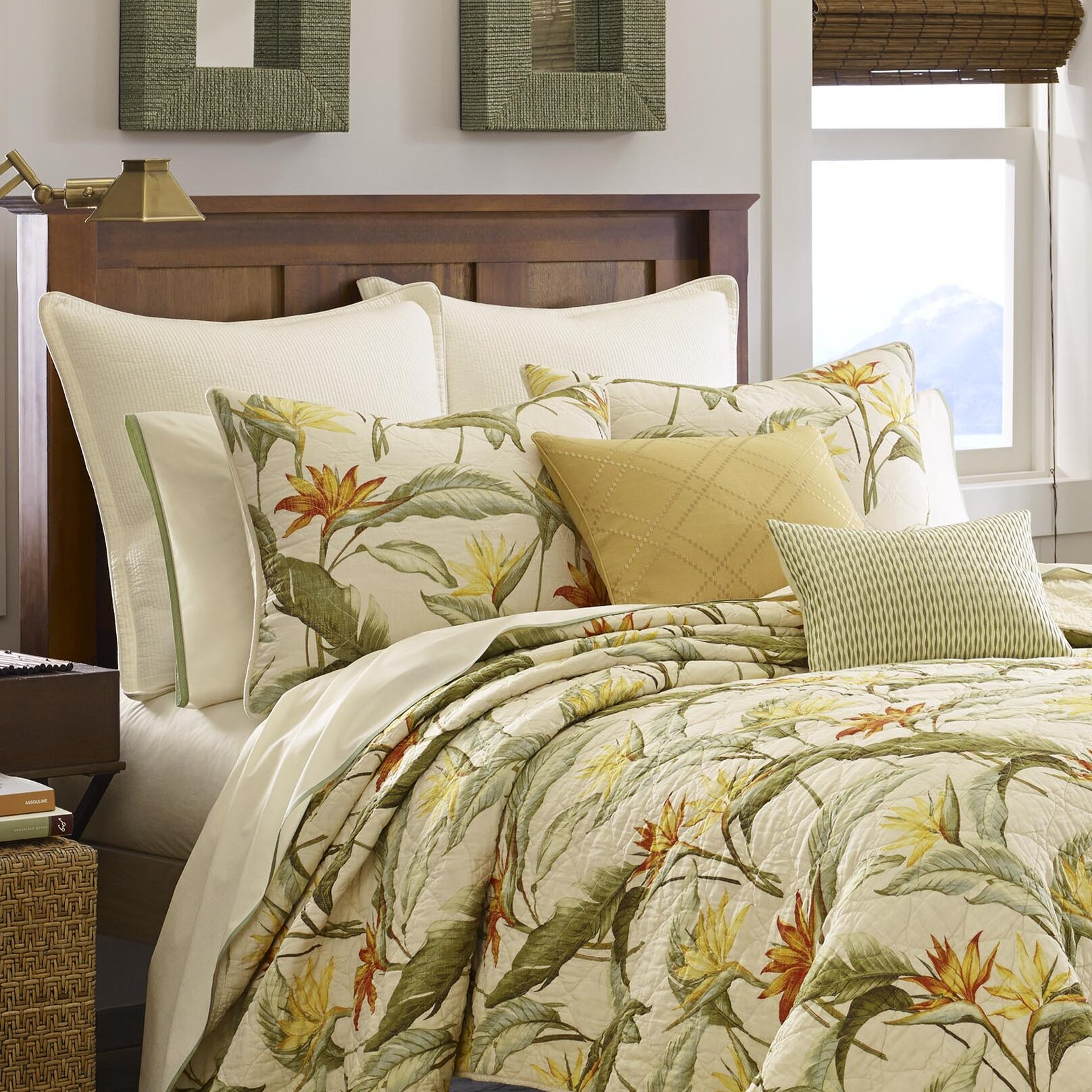 tommy bahama bedding birds of paradise quilted sham reviews