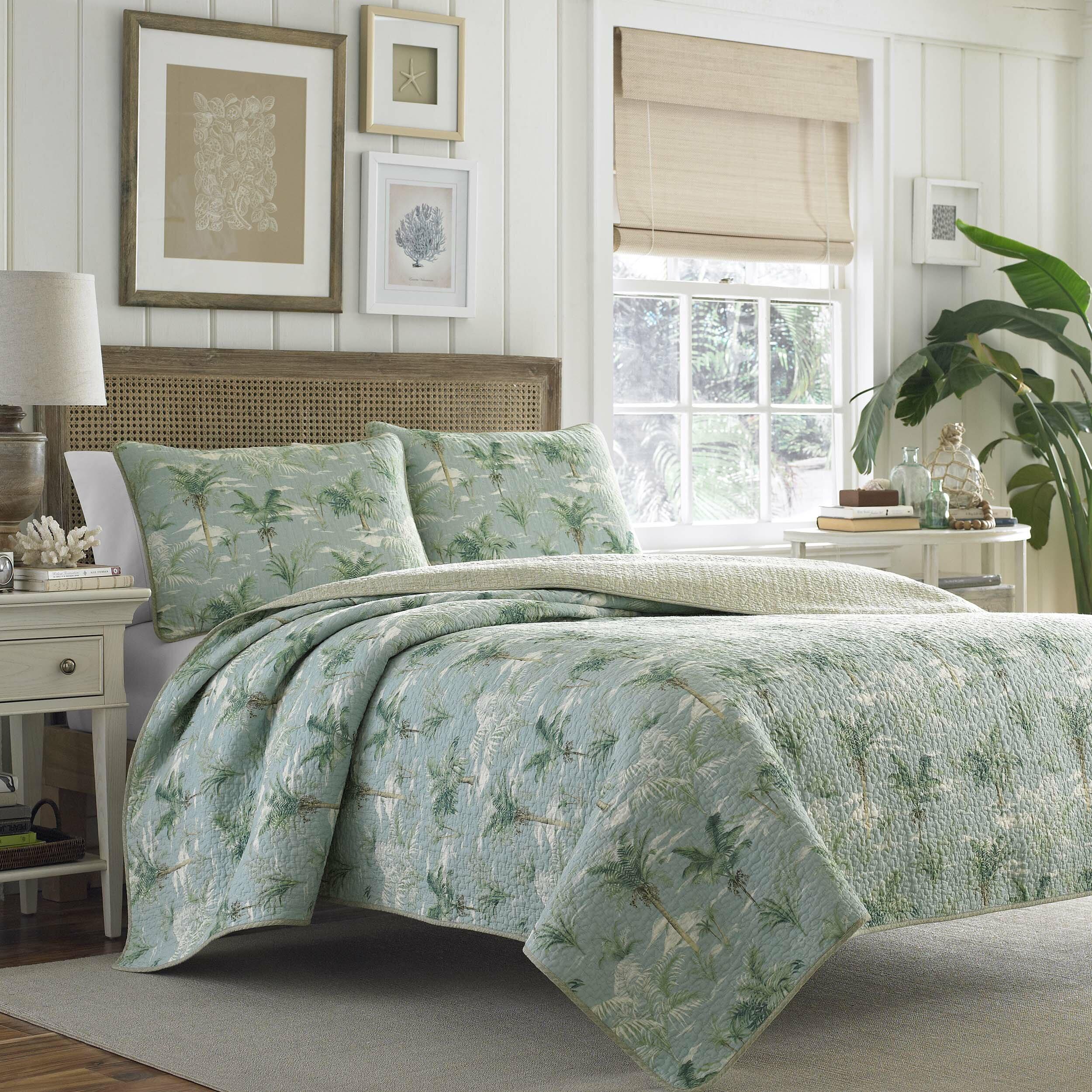 tommy bahama bedding anglers isle reversible quilt set reviews wayfair. Black Bedroom Furniture Sets. Home Design Ideas