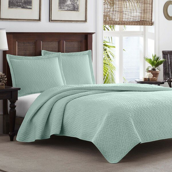 chevron reversible coverlet set - Twin Bedroom Sets For Adults