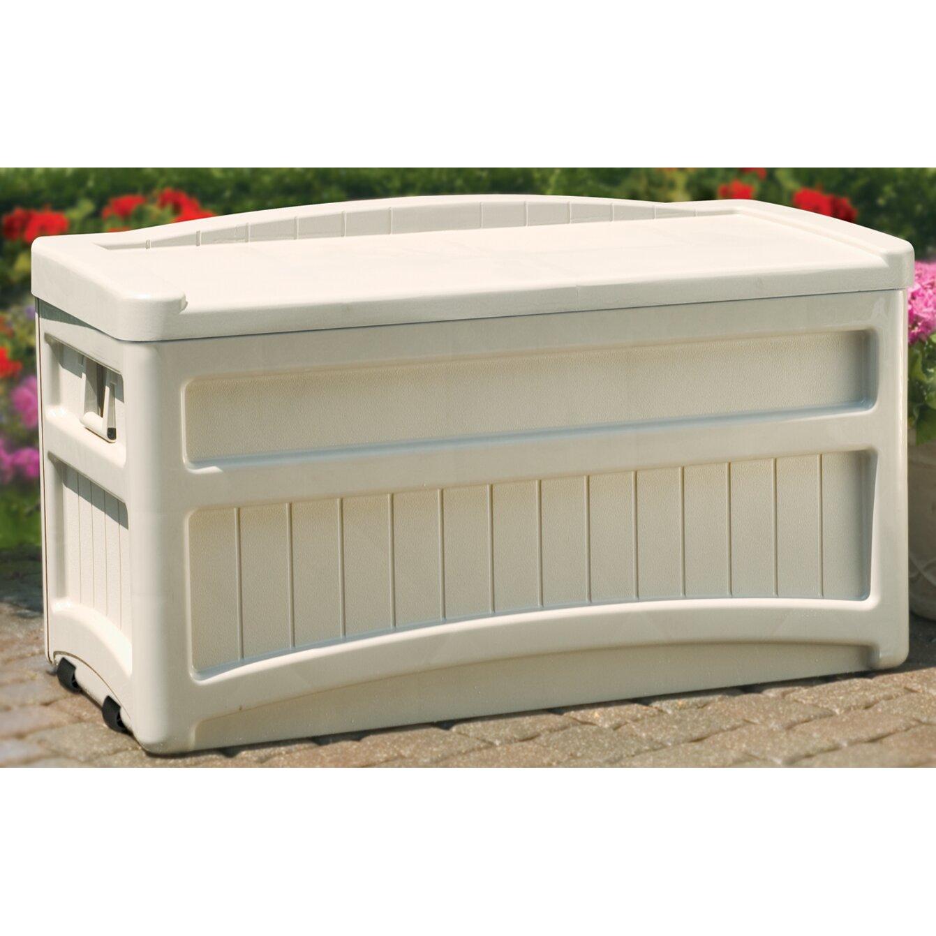 Suncast 276 Liters Plastic Storage Bench Reviews