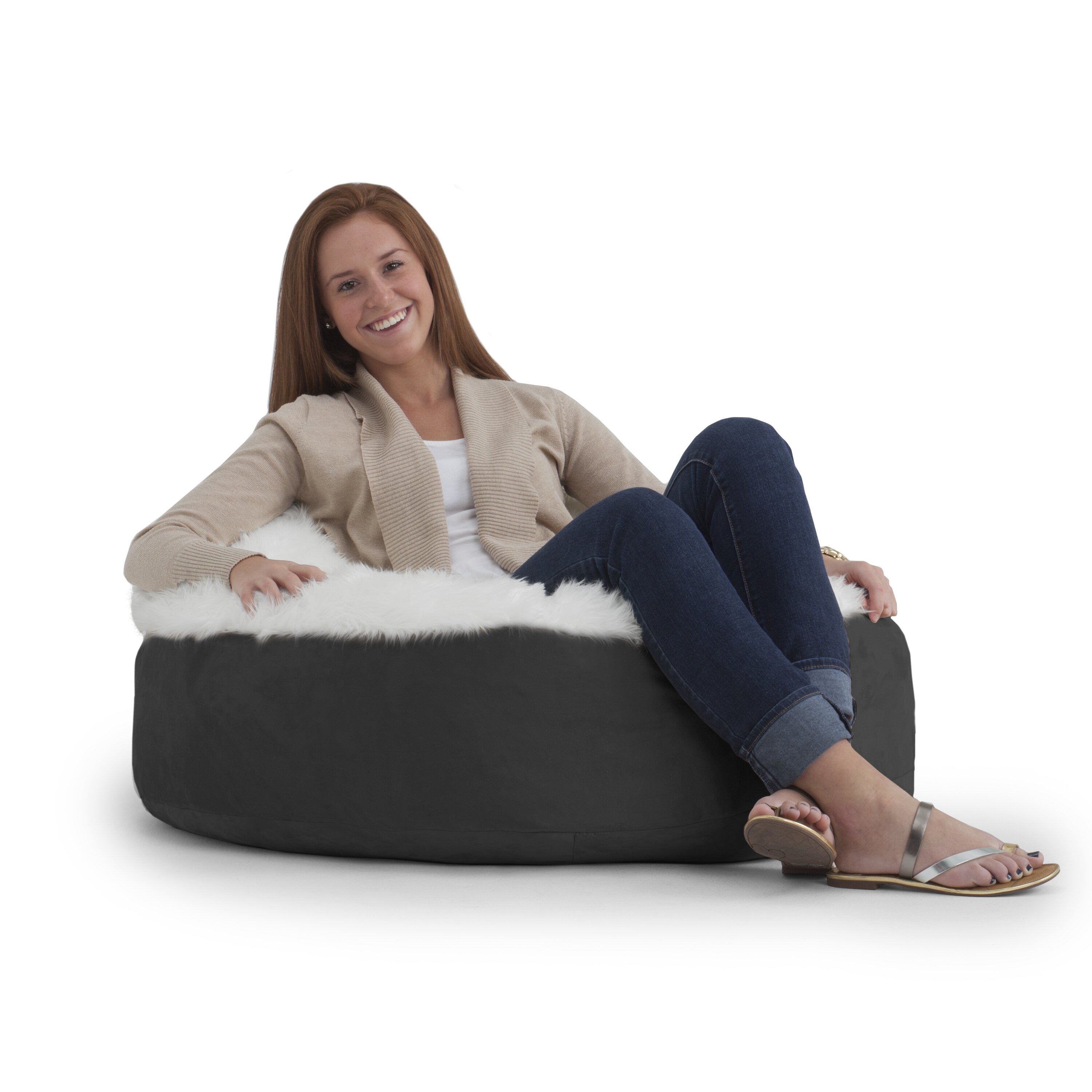 Comfort Research Big Joe Bean Bag Chair Wayfair