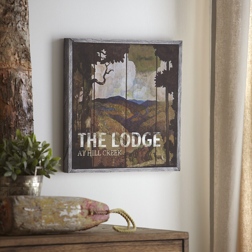 Birch lane lodge wood wall art reviews for Wayfair home decor canada