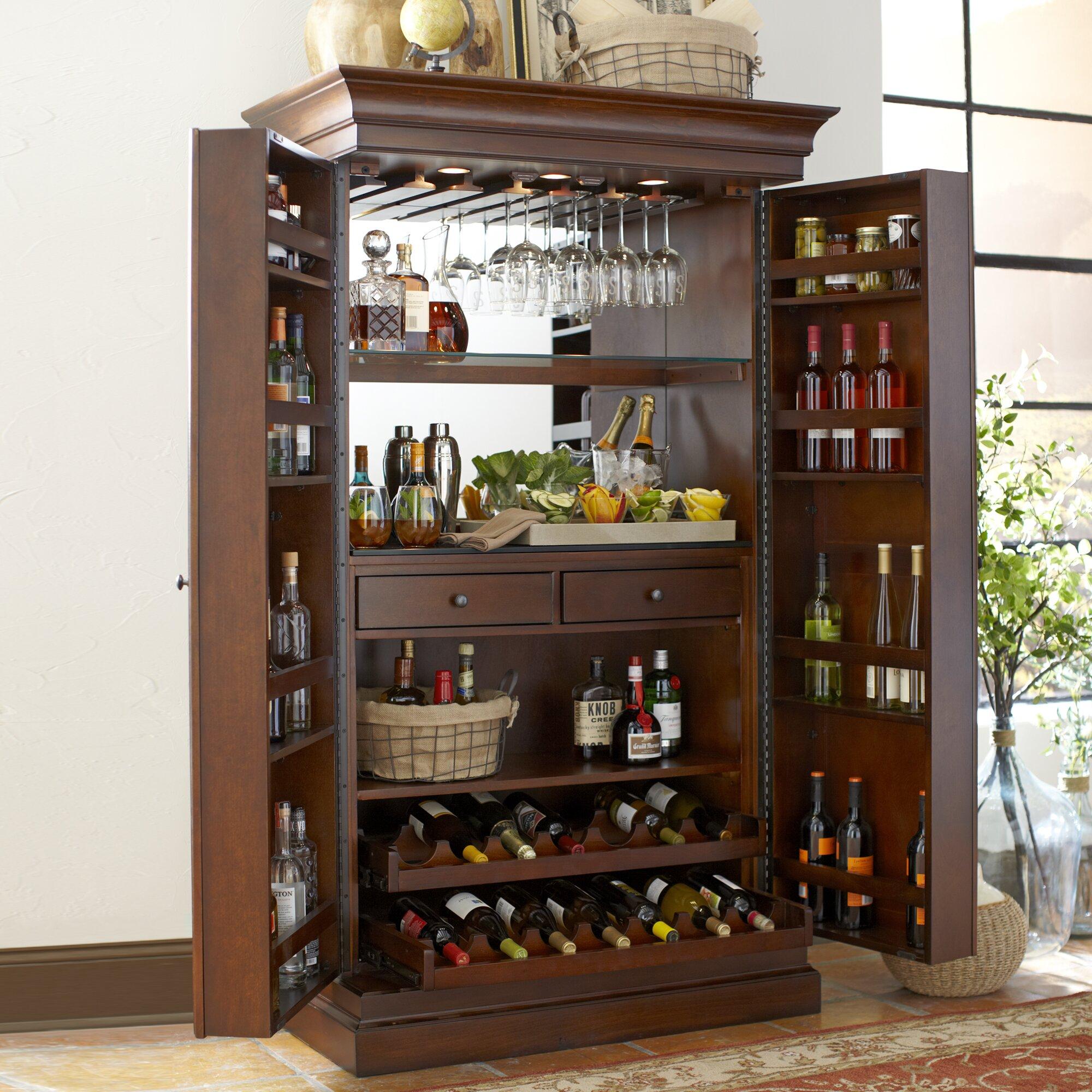 Secret Liquor Cabinet Birch Lane Landon Bar Cabinet Reviews Birch Lane
