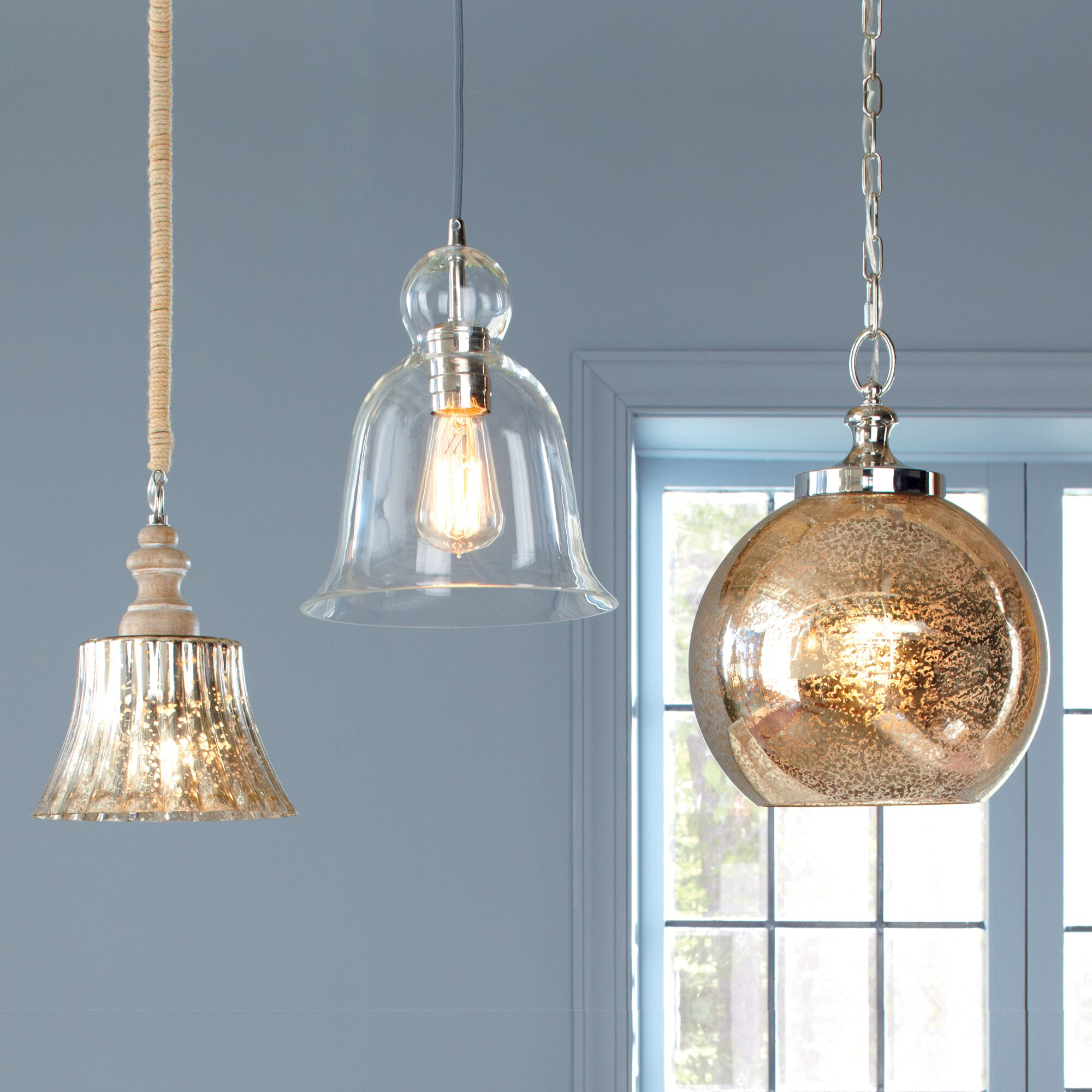 Wayfair Dining Room Lighting: Birch Lane Nadia Pendant & Reviews