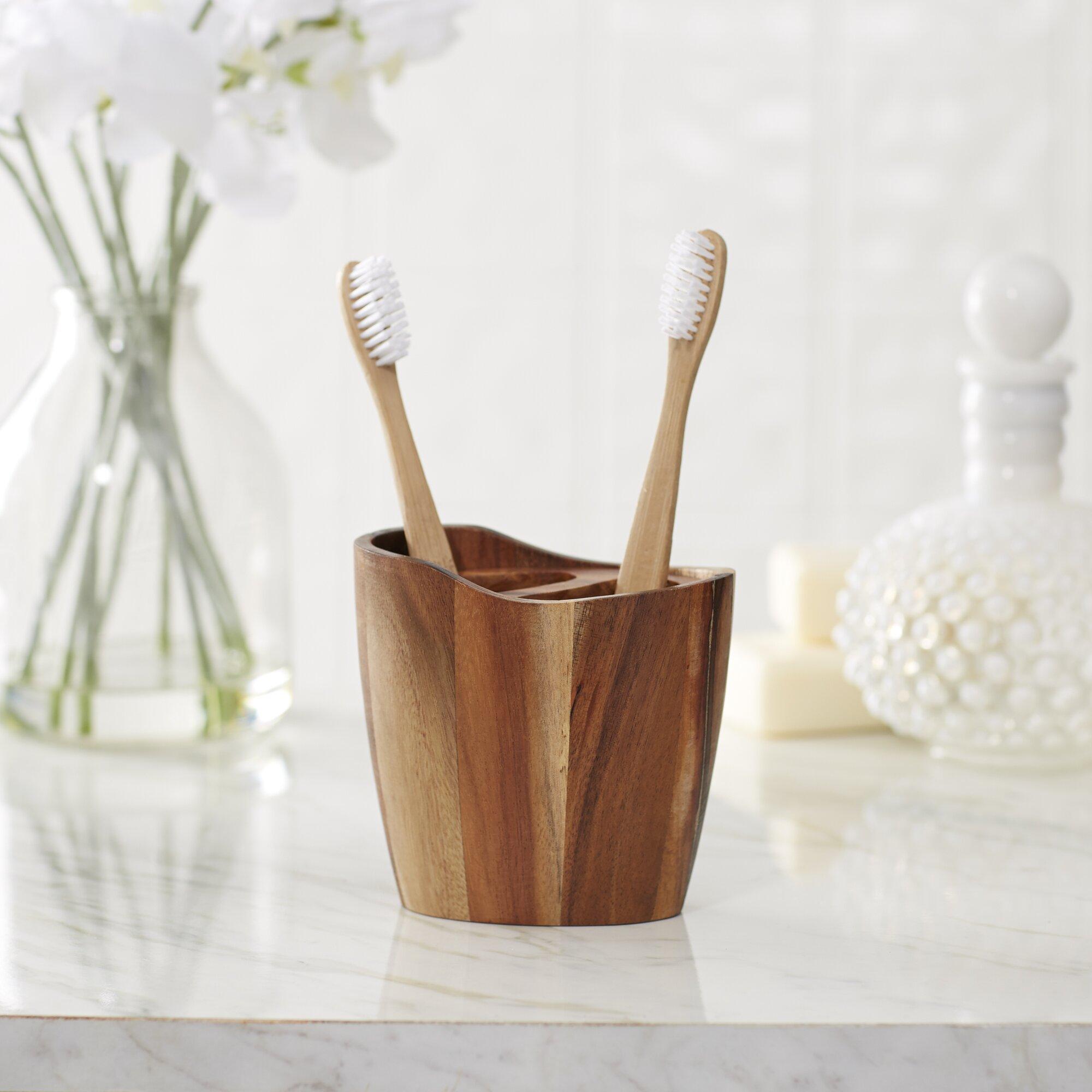 Driftwood Bathroom Accessories Wood Bathroom Accessories Youll Love Wayfair