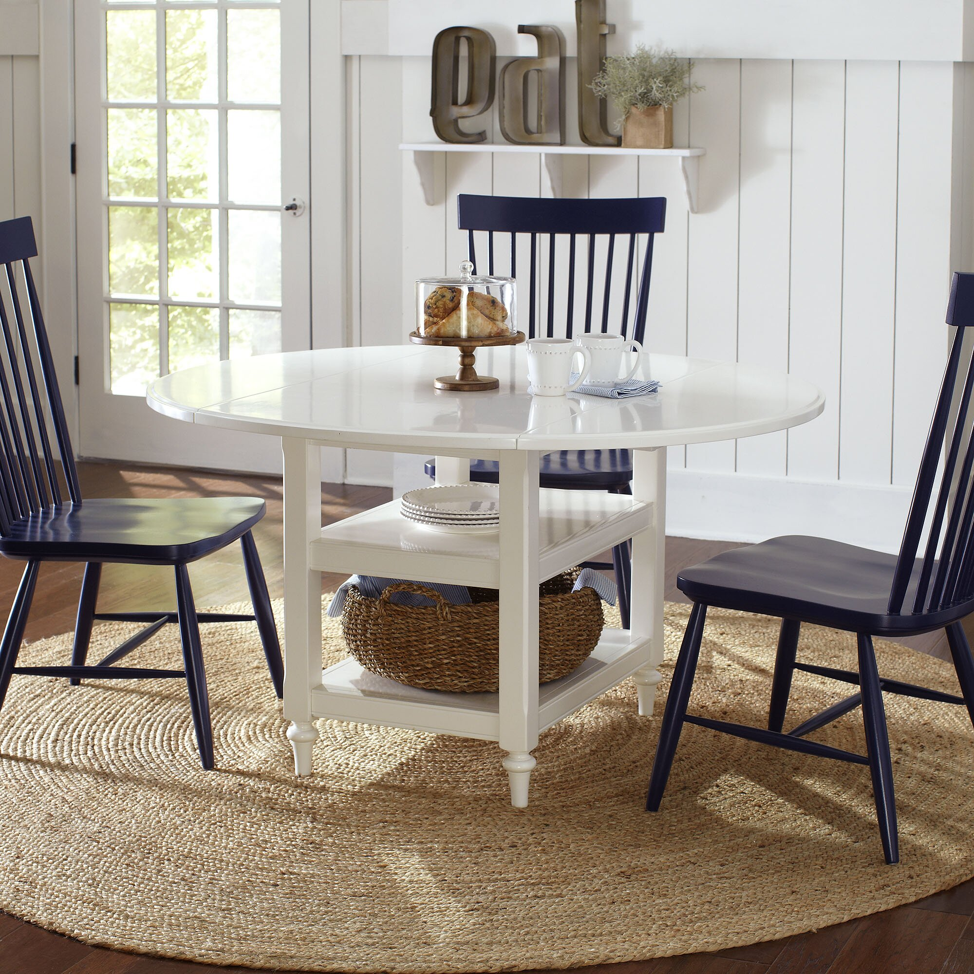 Drop Leaf Kitchen Table Chairs Burke Drop Leaf Dining Table Reviews Birch Lane
