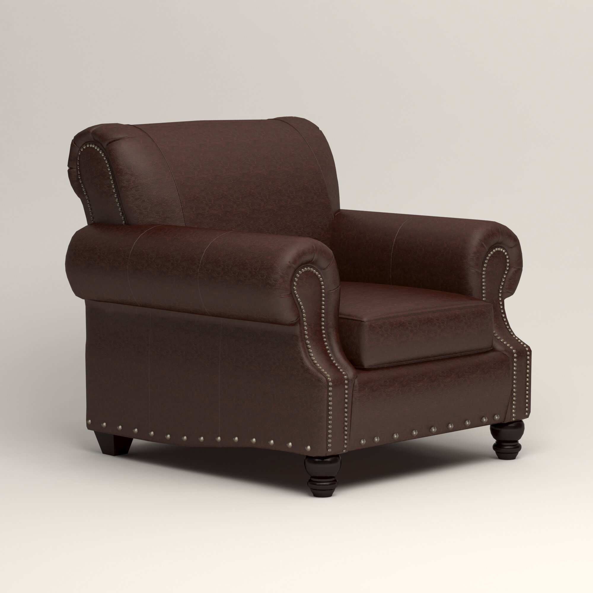 Birch Lane Landry Leather Club Chair Reviews – Leather Recliner Club Chairs