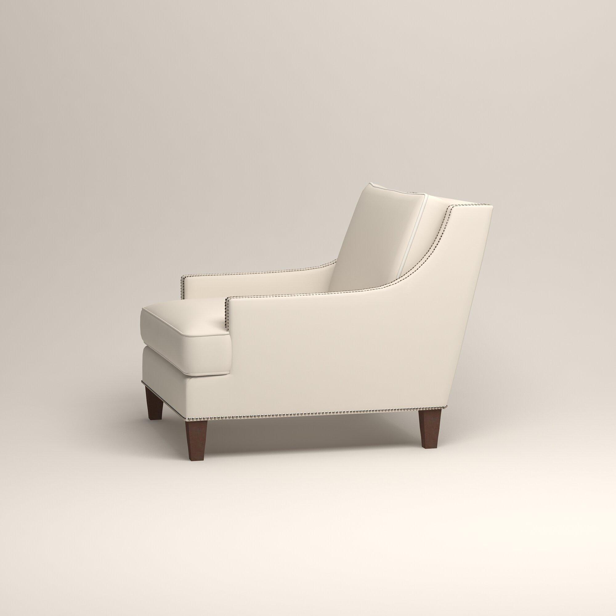 Birch Lane Larson Nailhead Trim Chair Amp Reviews Wayfair