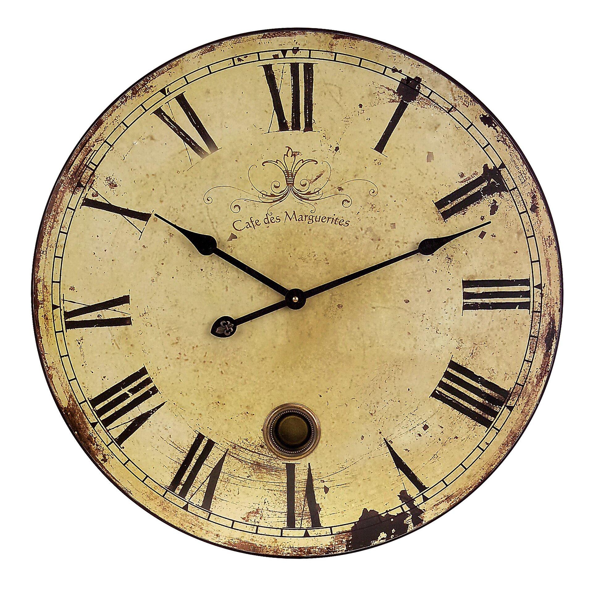Kitchen Wall Clocks Modern Wall Clocks Youll Love Wayfair