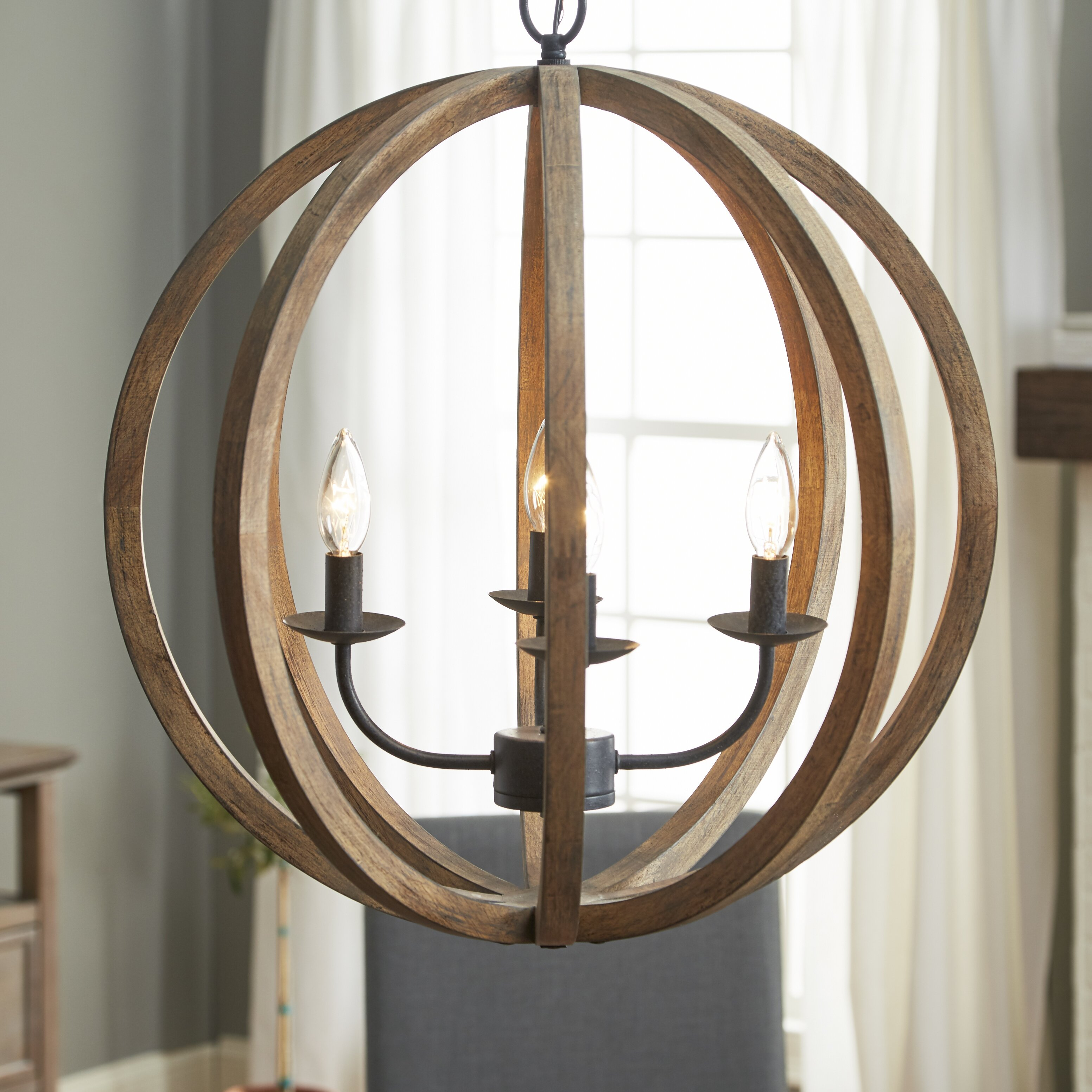 Wayfair Dining Room Lighting: Birch Lane Stanton 4-Light Candle-Style Chandelier