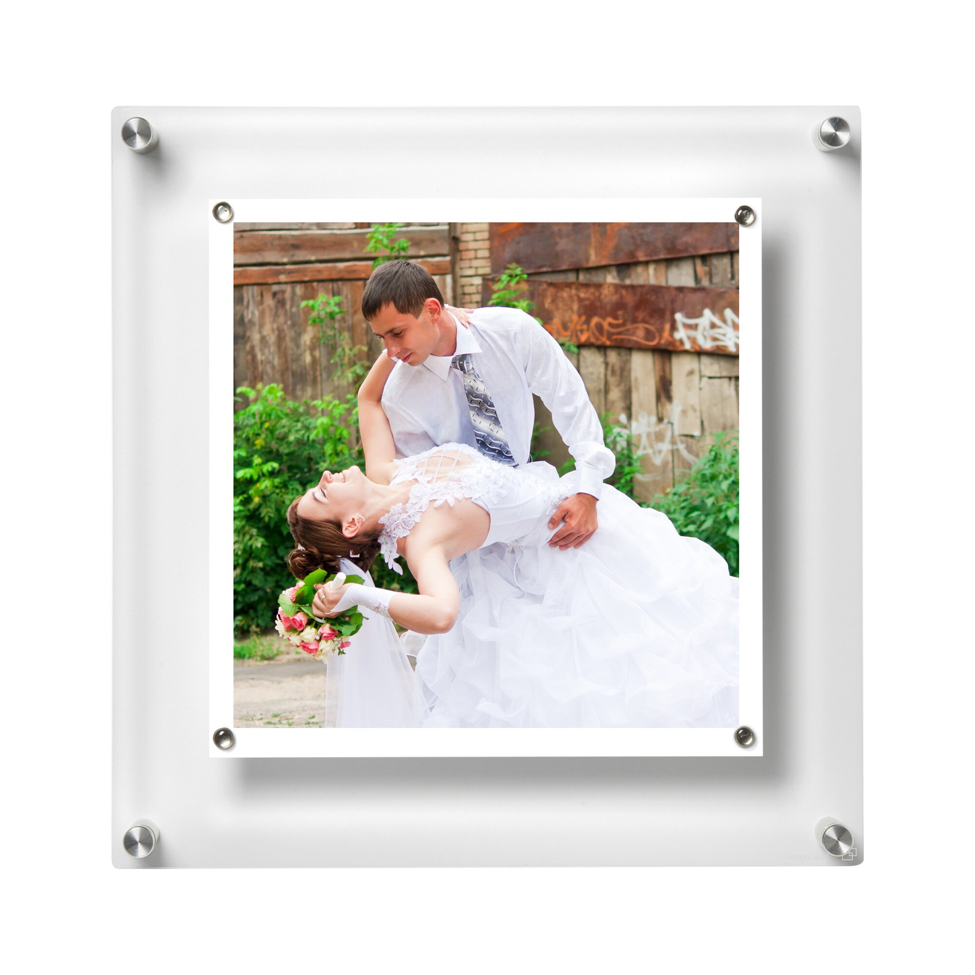 wexel art besquare floating picture frame