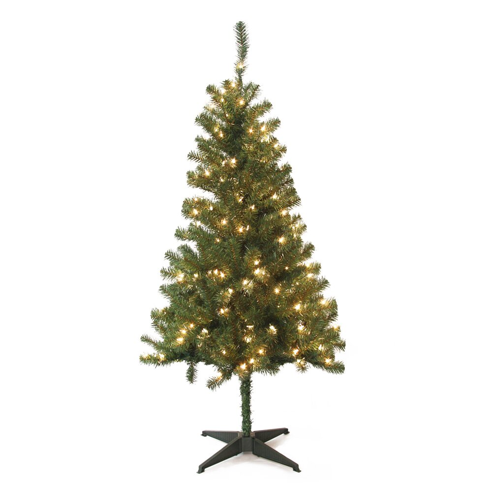 Jeco Inc 5 39 Green Pine Artificial Christmas Tree With 200