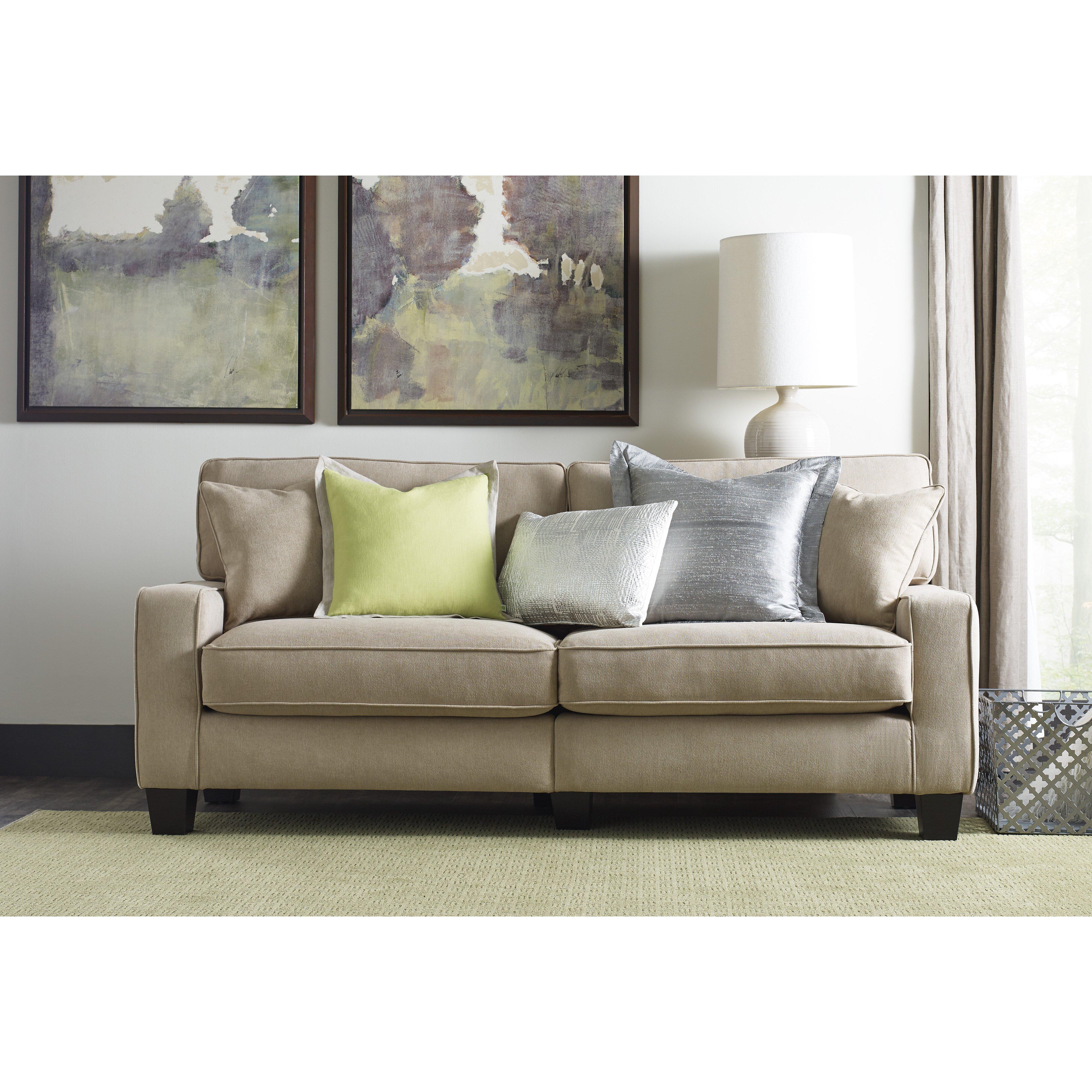 Wayfair Living Room Furniture Serta At Home Palisades 73 Sofa Reviews Wayfair