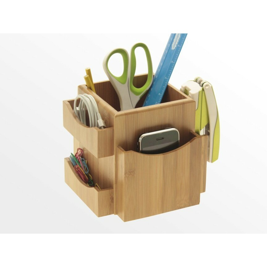 Woodquail Revolving Desk Tidy & Reviews | Wayfair.co.uk
