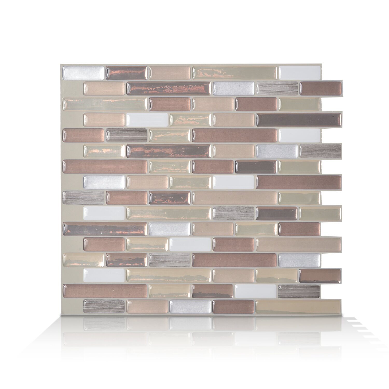 Peel And Stick Kitchen Tile Smart Tiles Mosaik Muretto Durango 1020 X 910 Peel Stick