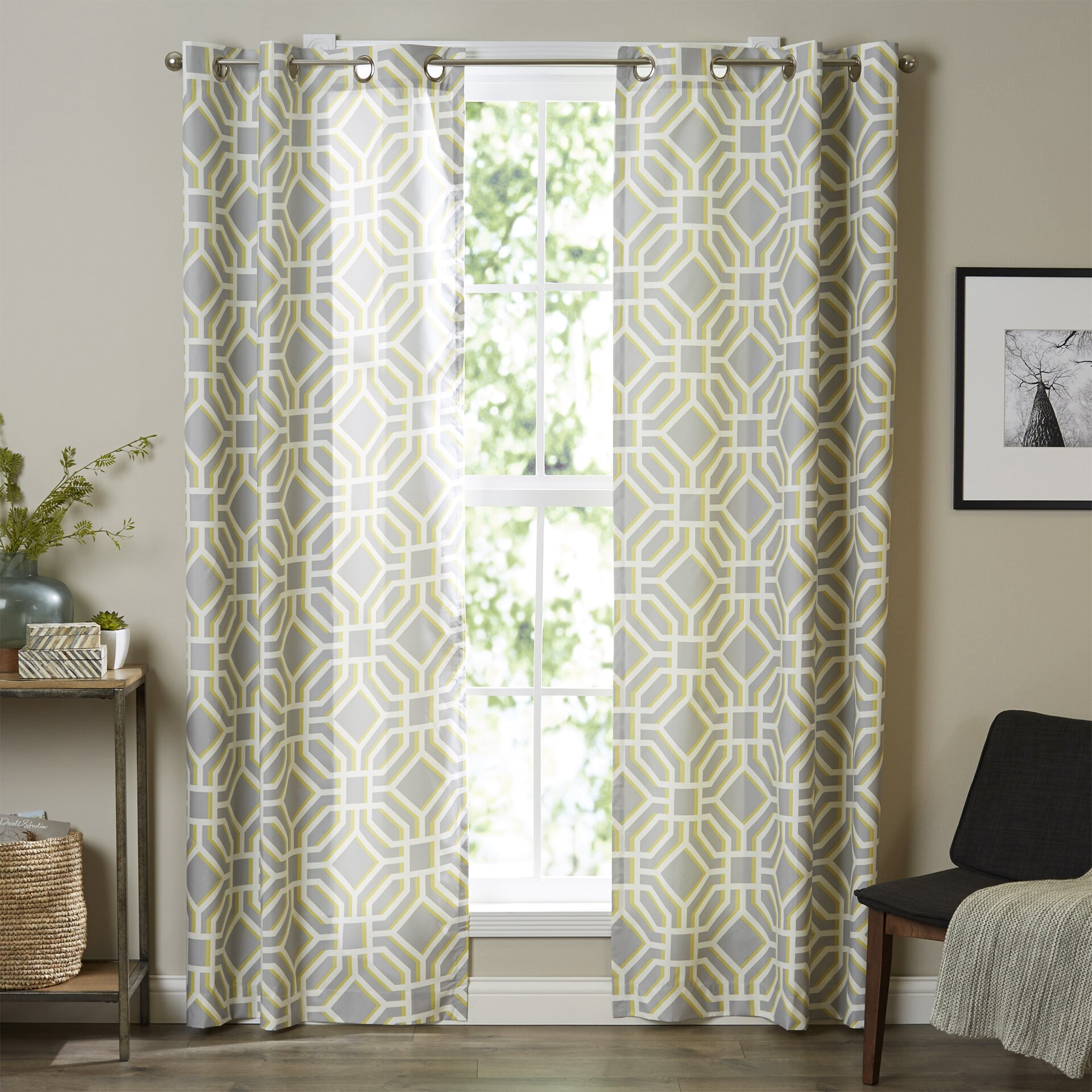Wayfair Com Sales: Intelligent Design Maci Single Curtain Panel & Reviews