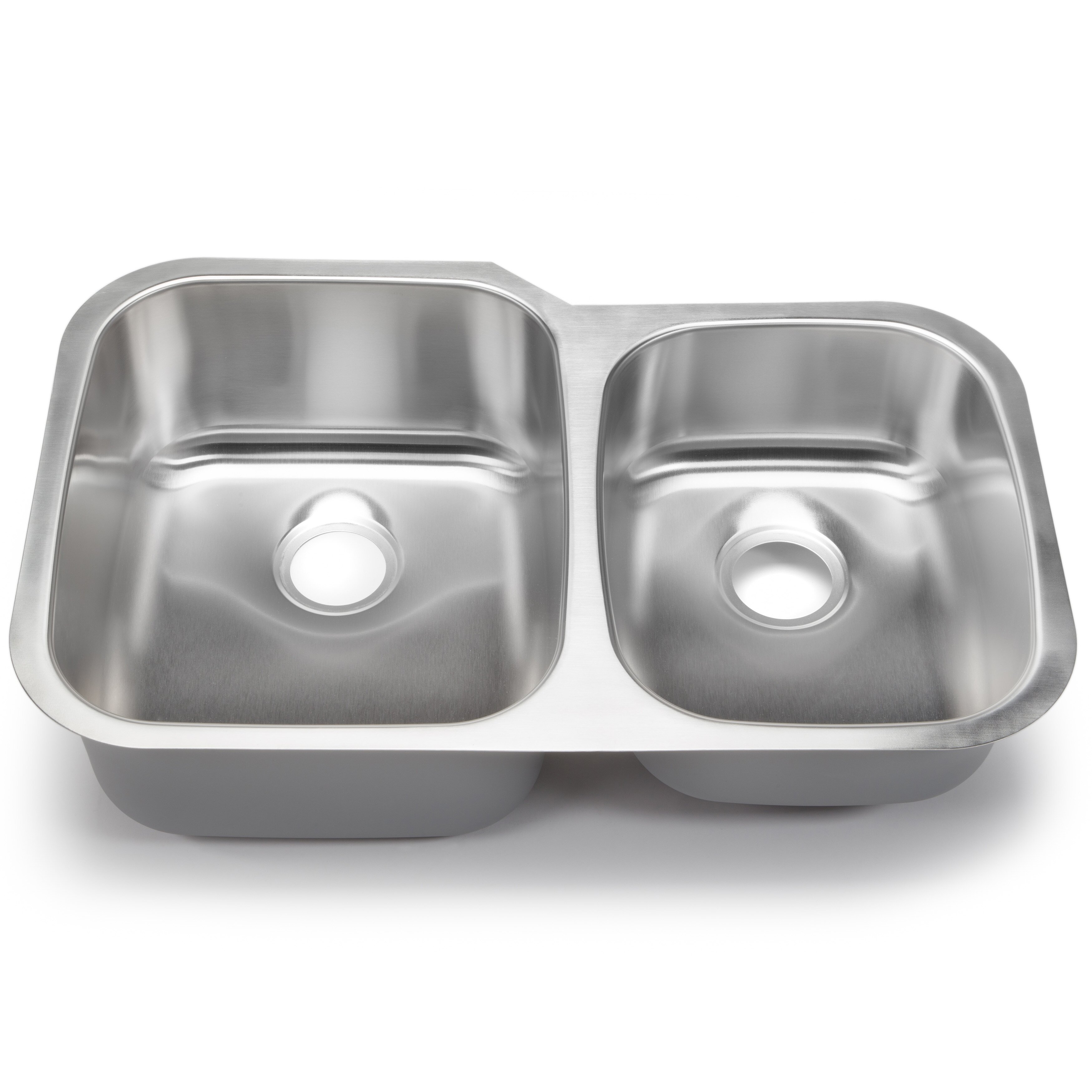 White Kitchen Sink Undermount Hahn Classic Chef 32 X 2063 Double Bowl Undermount Kitchen Sink