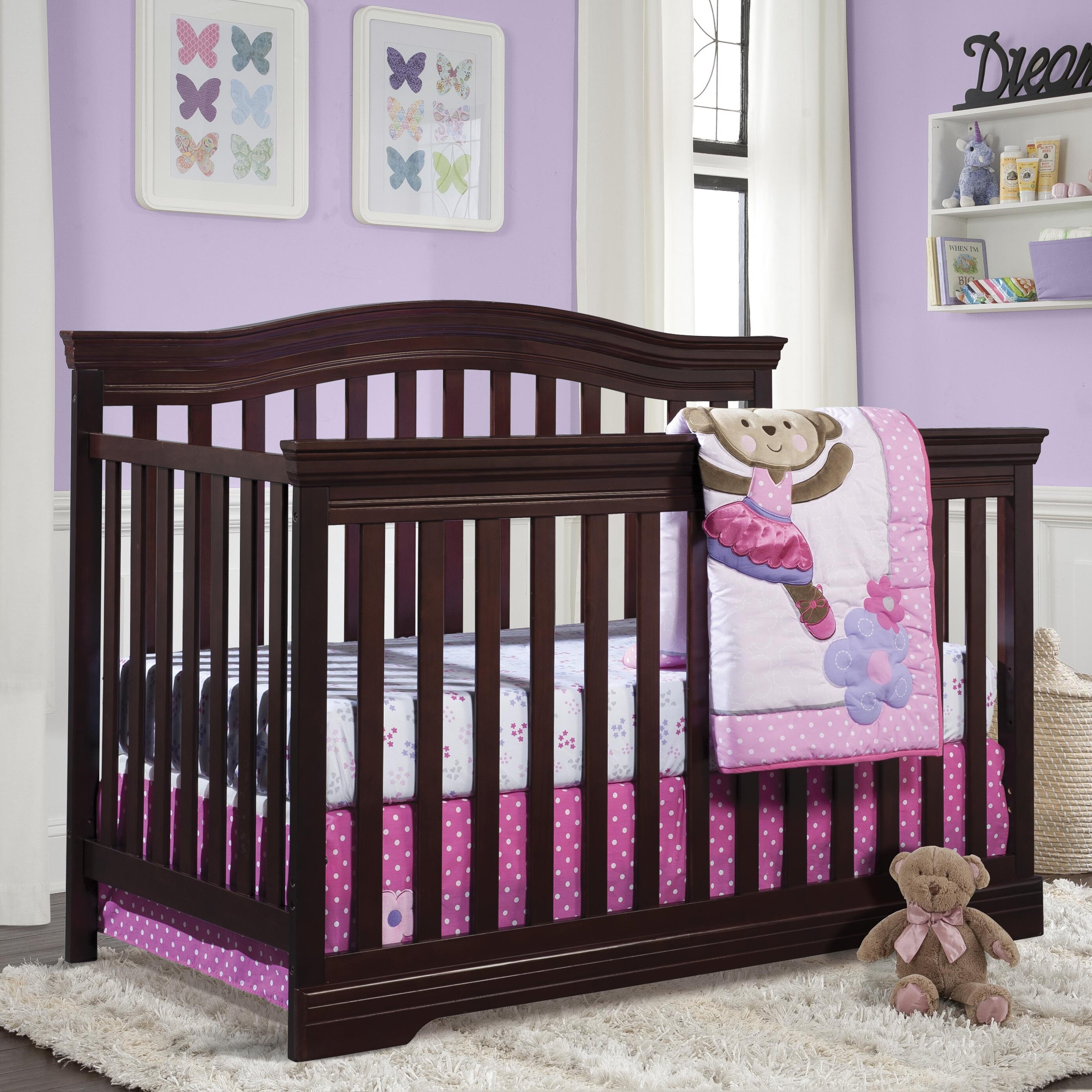 Broyhill Kids Bowen 4 In 1 Heights Convertible Crib