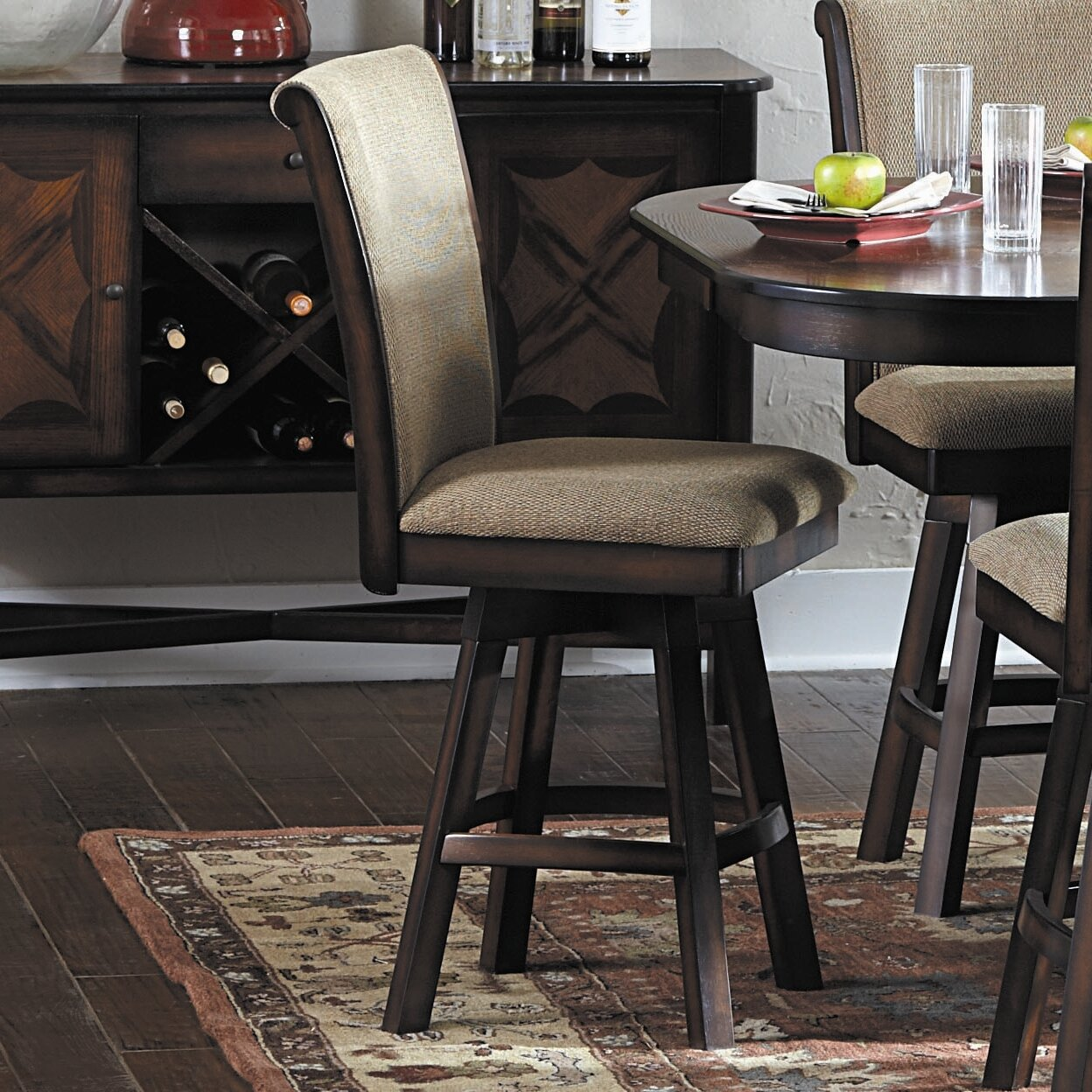 Woodhaven Hill Westwood 24 Quot Swivel Bar Stool Amp Reviews