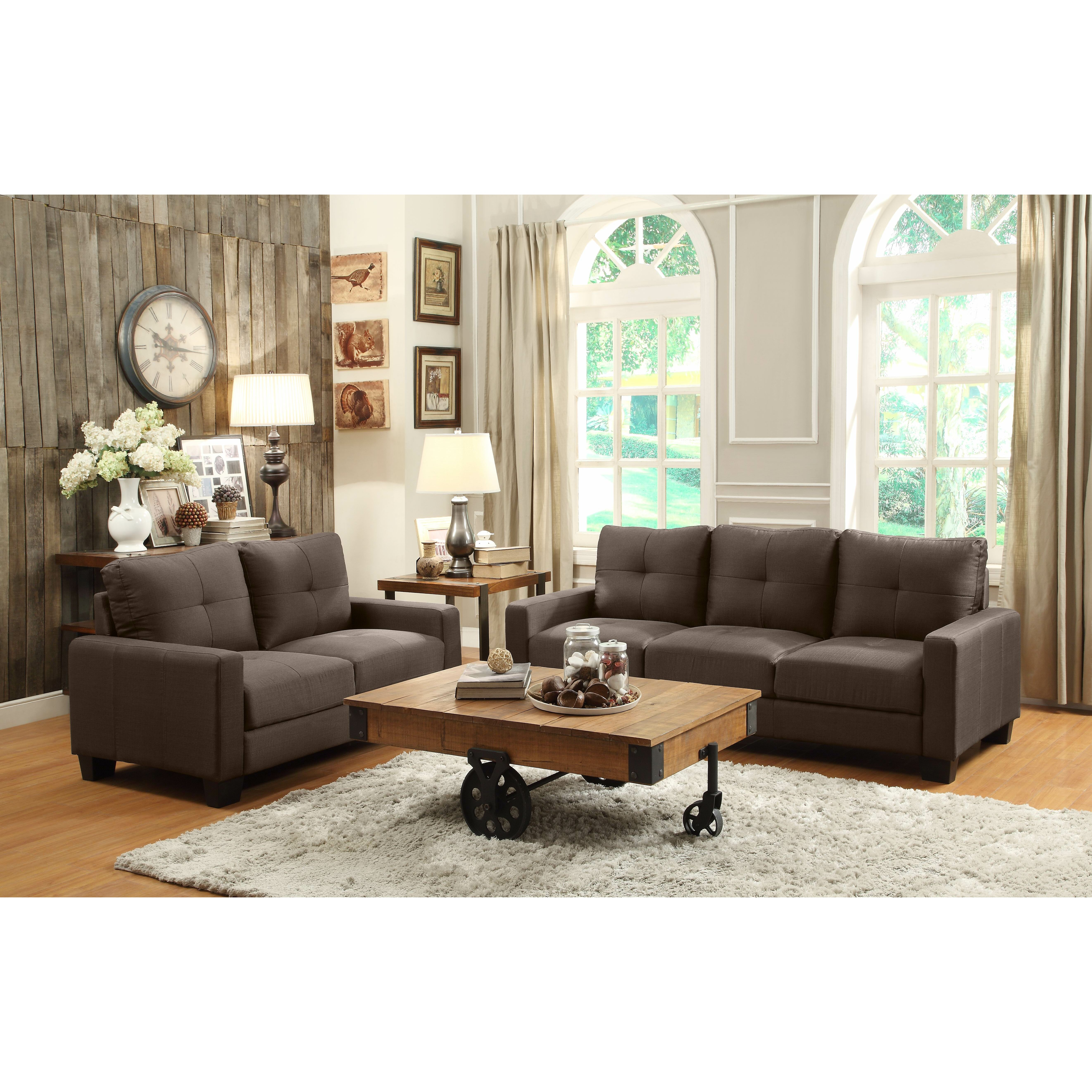 woodhaven hill ramsey living room collection reviews wayfair. Black Bedroom Furniture Sets. Home Design Ideas