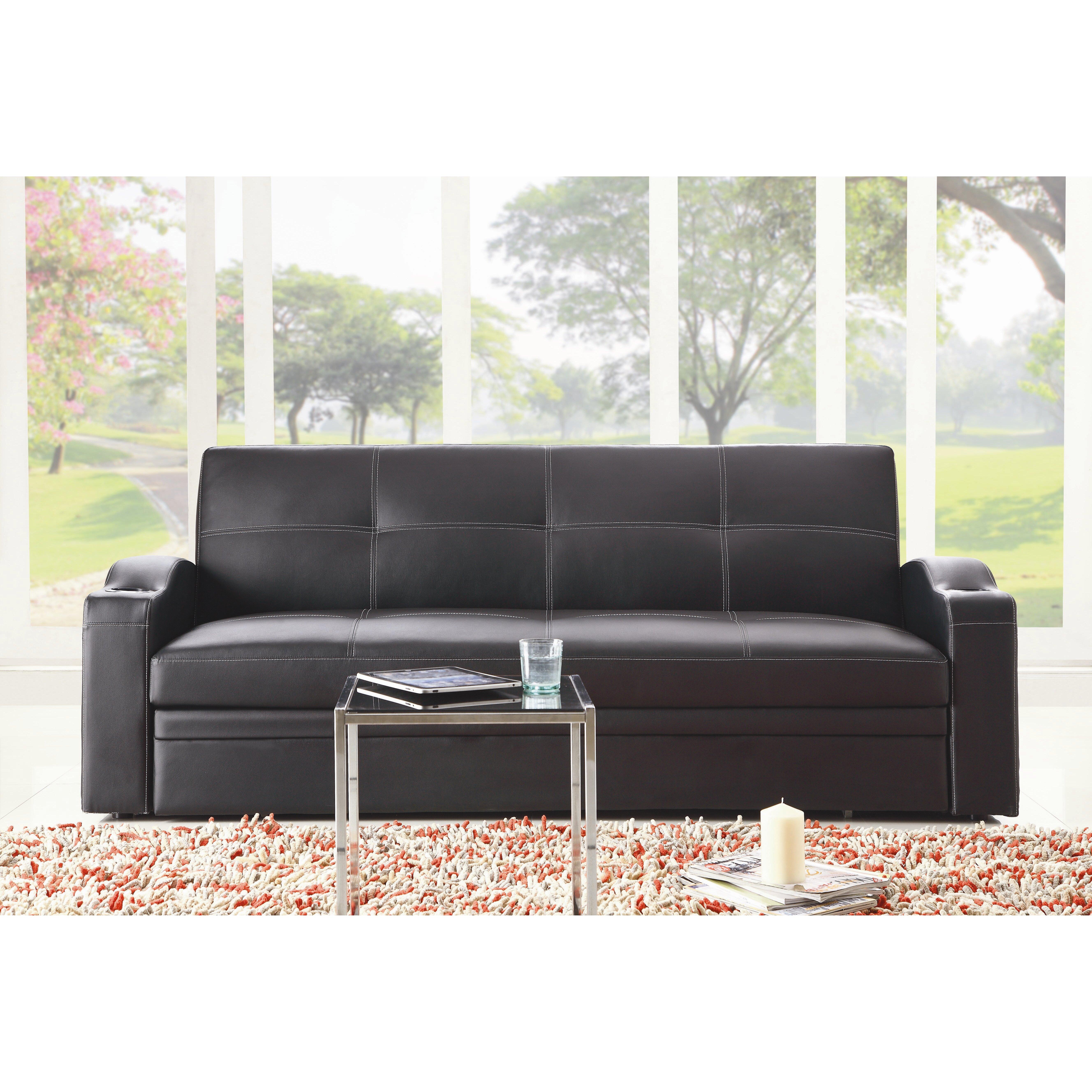 Woodhaven Living Room Furniture Woodhaven Hill Novak Sleeper Sofa Reviews Wayfair