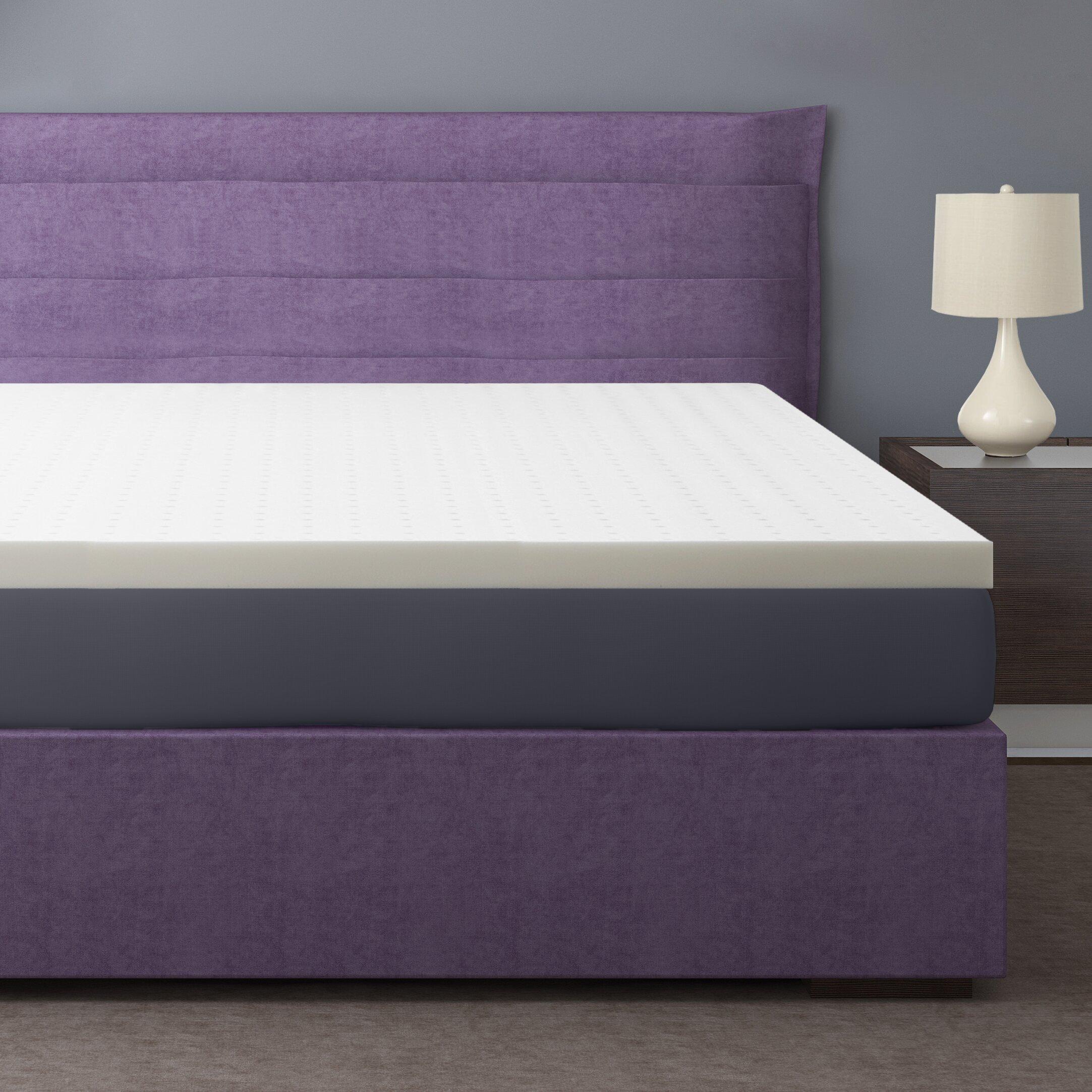 "Best Price Quality 2 5"" Ventilated Memory Foam Mattress"