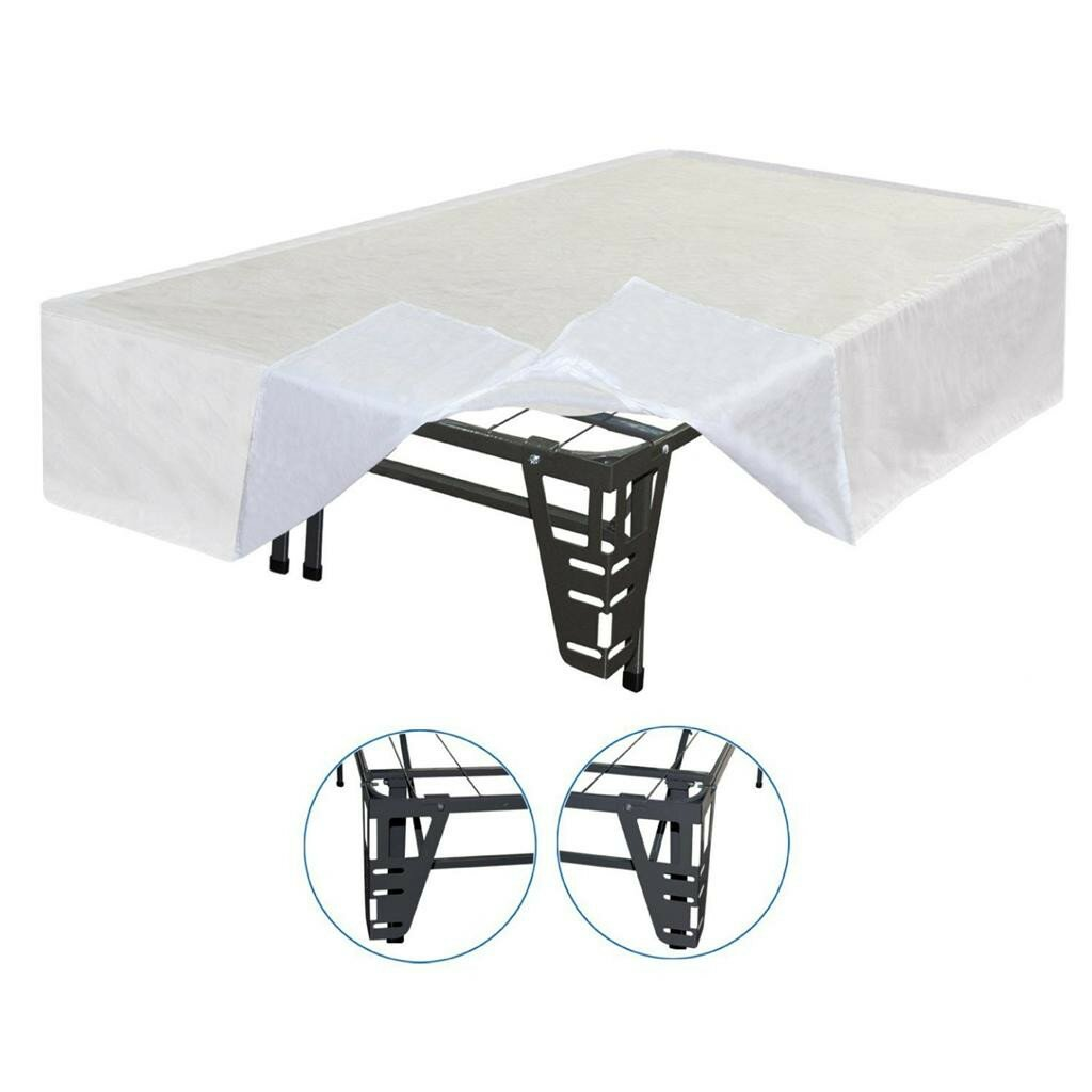 best price quality best price quality innovative box spring bed frame foundation with skirt