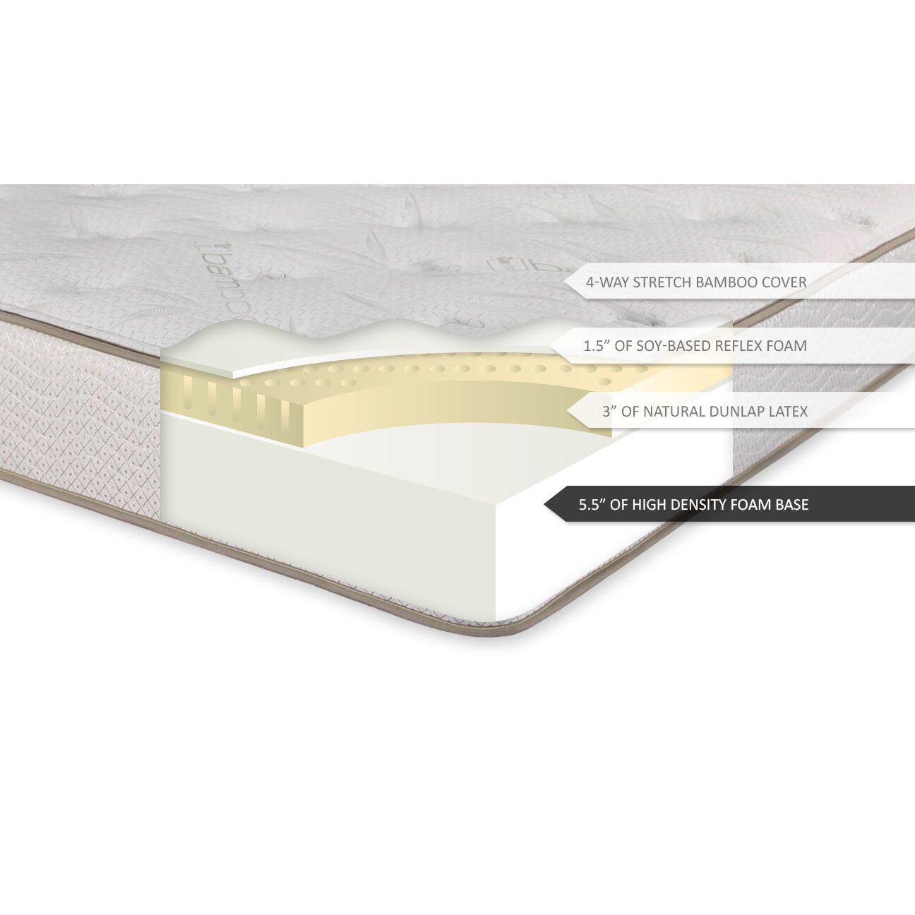 Brooklyn Bedding Ultimate Dreams 10 Quot Natural Latex Foam