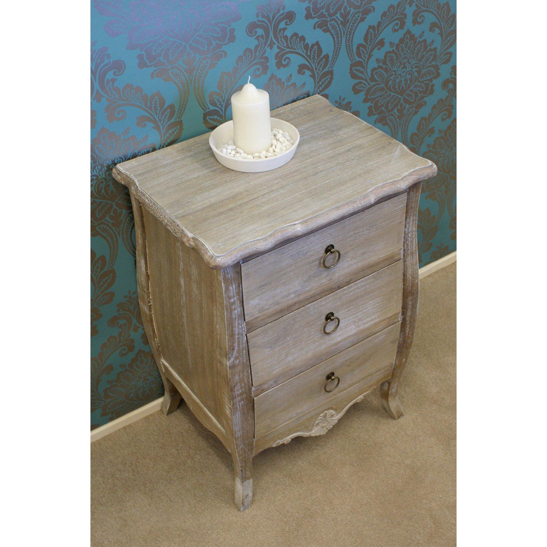 Firmans direct la rochelle 3 drawer bedside table wayfair uk - La table basque la rochelle ...