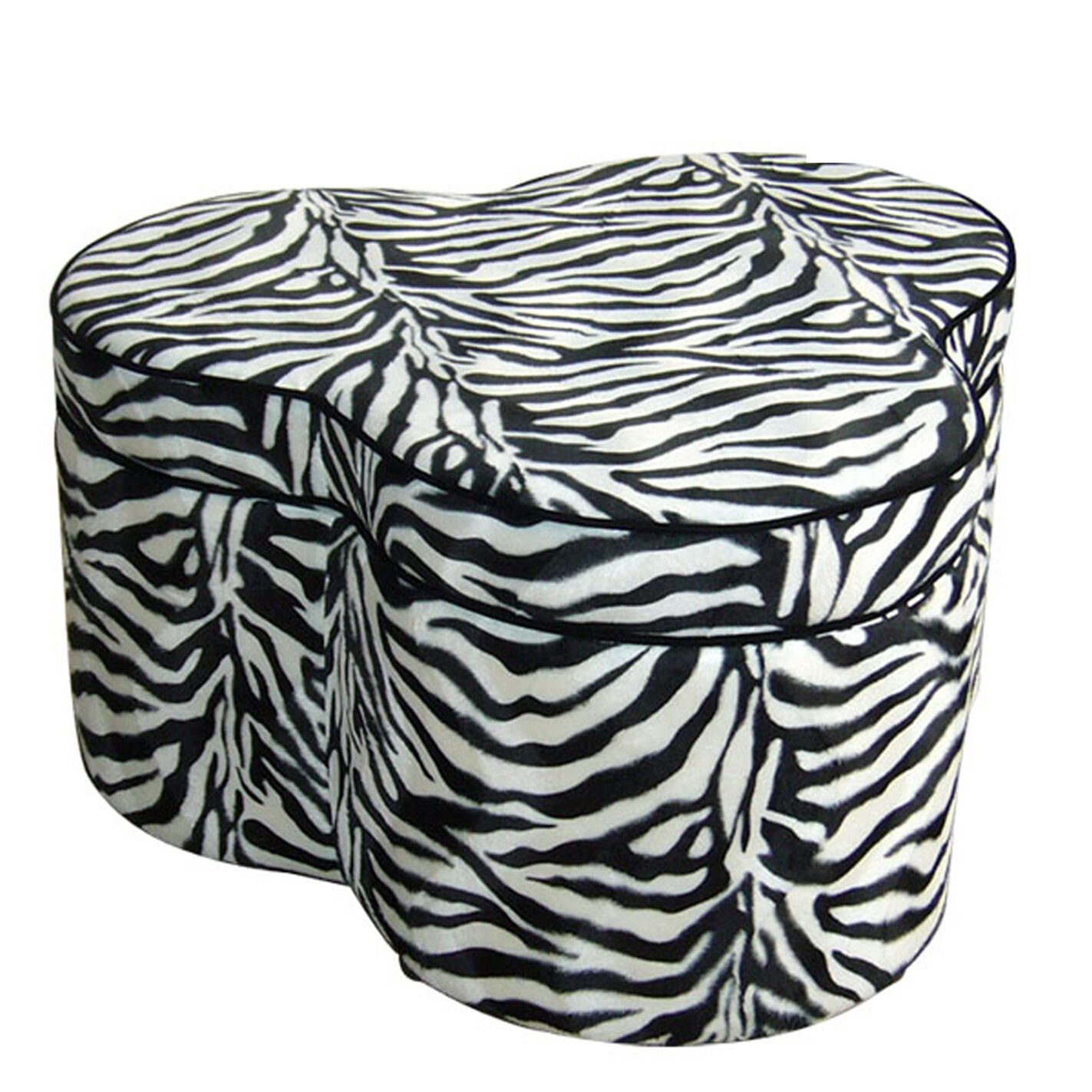 ORE Furniture Zebra Storage Ottoman with Seating - ORE Furniture Zebra Storage Ottoman With Seating & Reviews Wayfair