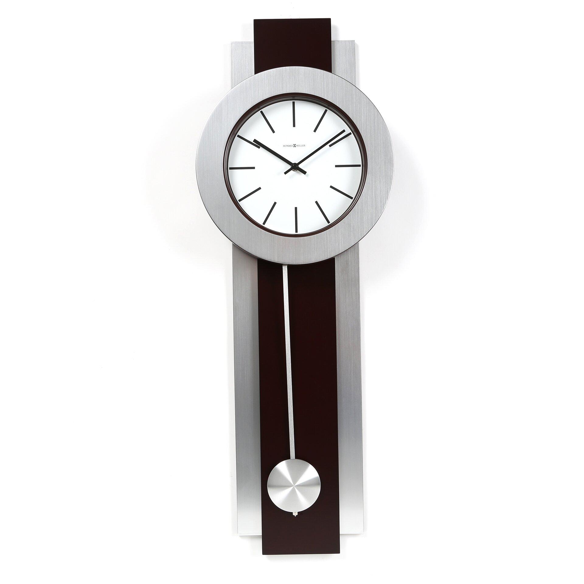Kitchen Wall Clocks Modern Modern Contemporary Wall Clocks Youll Love Wayfair