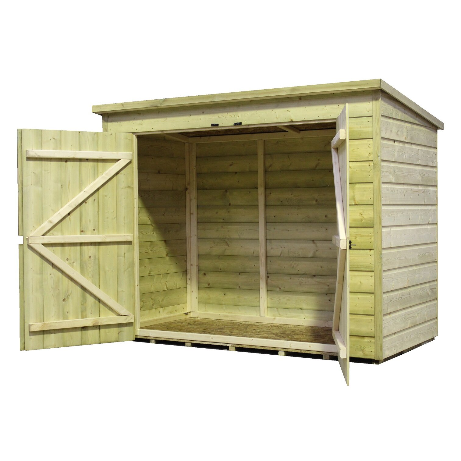 Empire Sheds Ltd 7 X 3 Wooden Bike Shed Amp Reviews