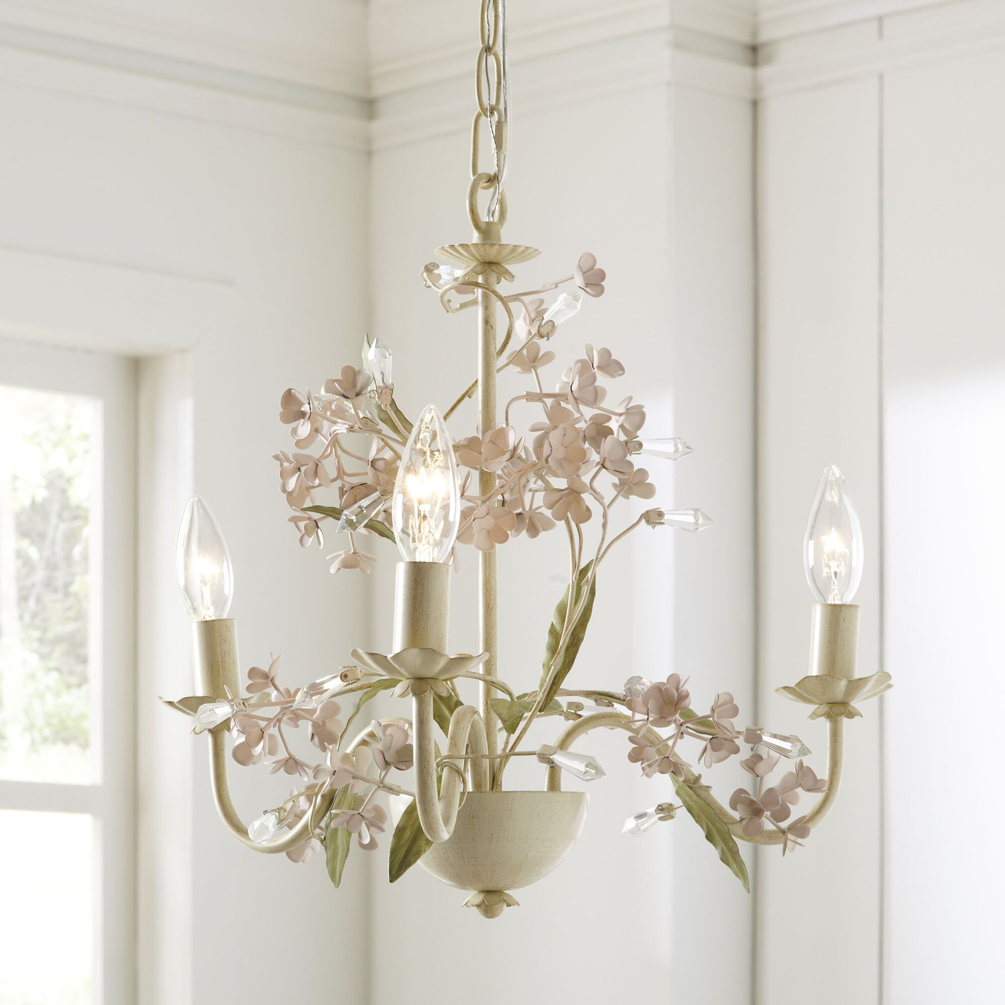Birch Lane Kids Aria 3 Light Candle Style Chandelier