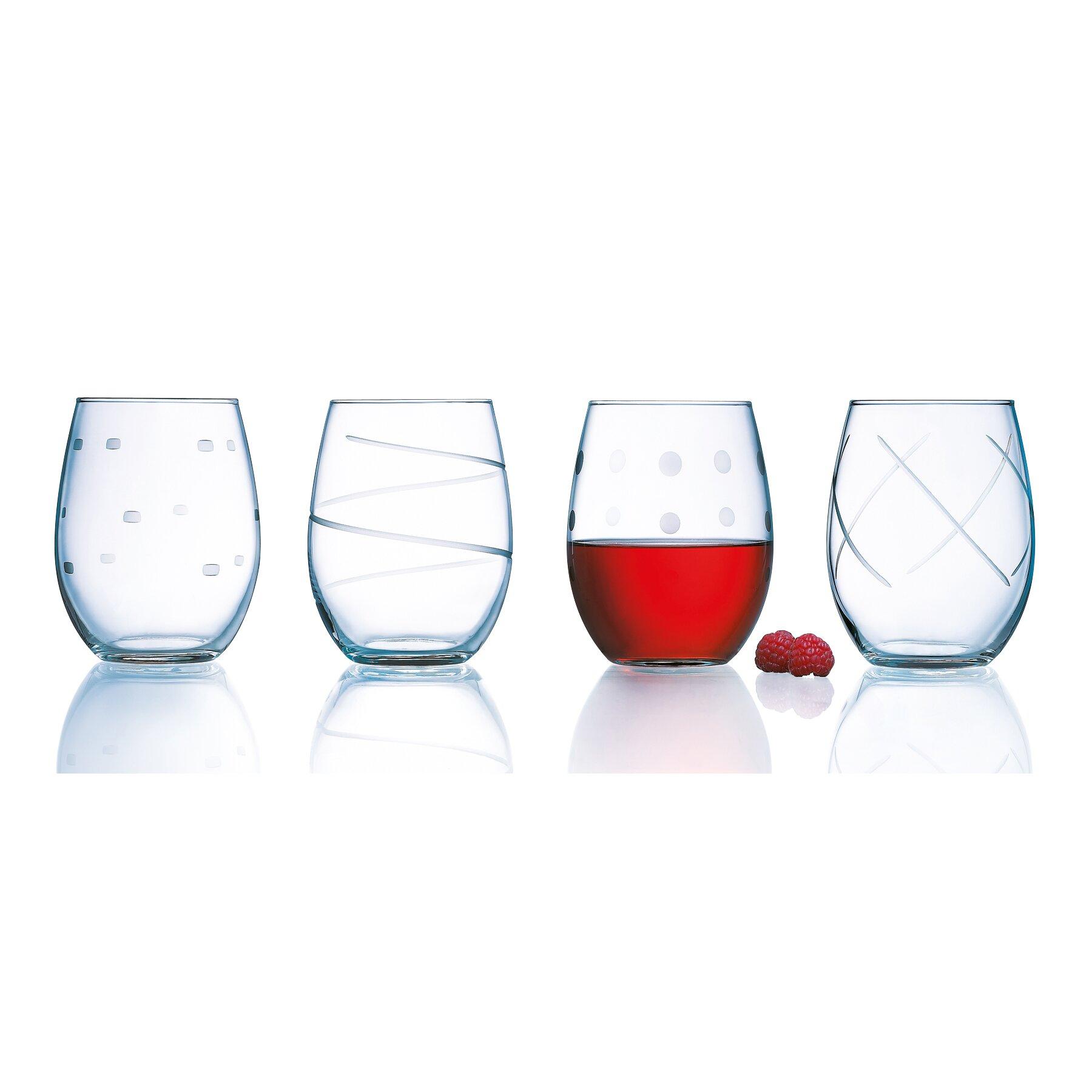 Luminarc Soho 21 Oz. Stemless Wine Glass & Reviews | Wayfair