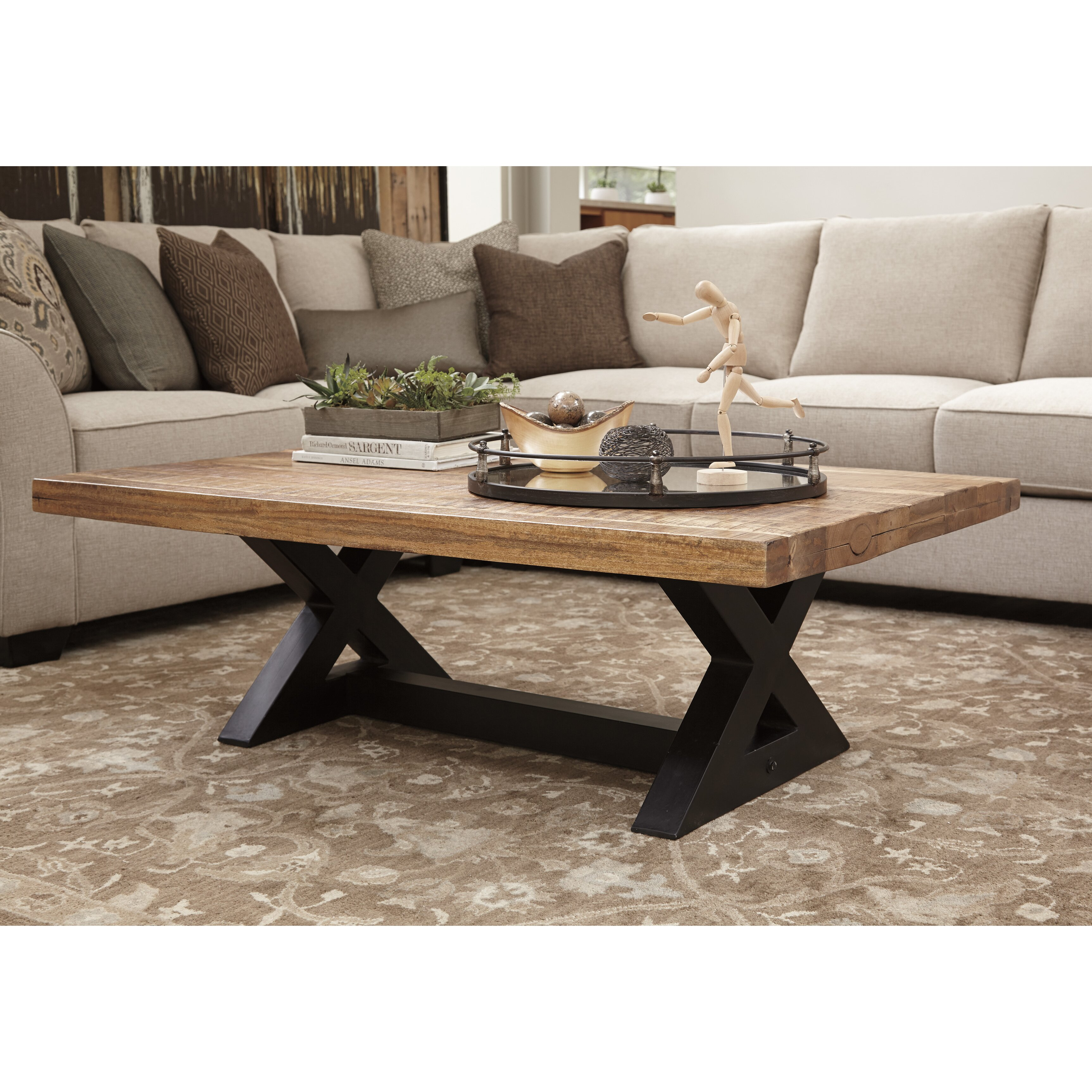 Ashley Furniture Watson Coffee Table Toscana Rectangular Cocktail