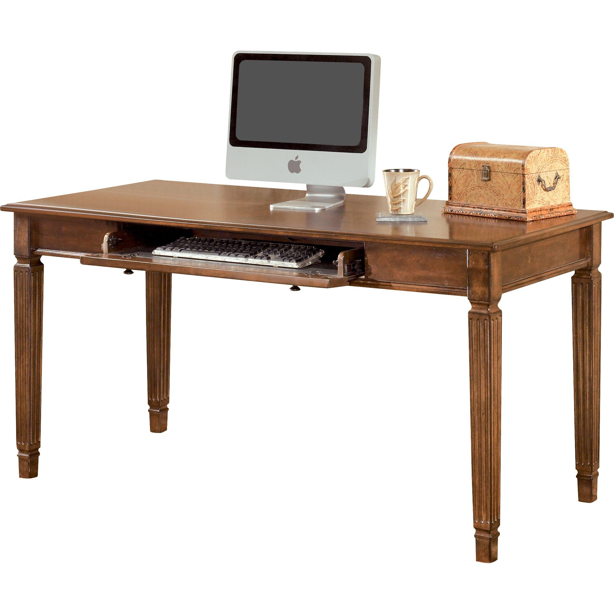 Signature Design By Ashley Hamlyn Large Leg Writing Desk