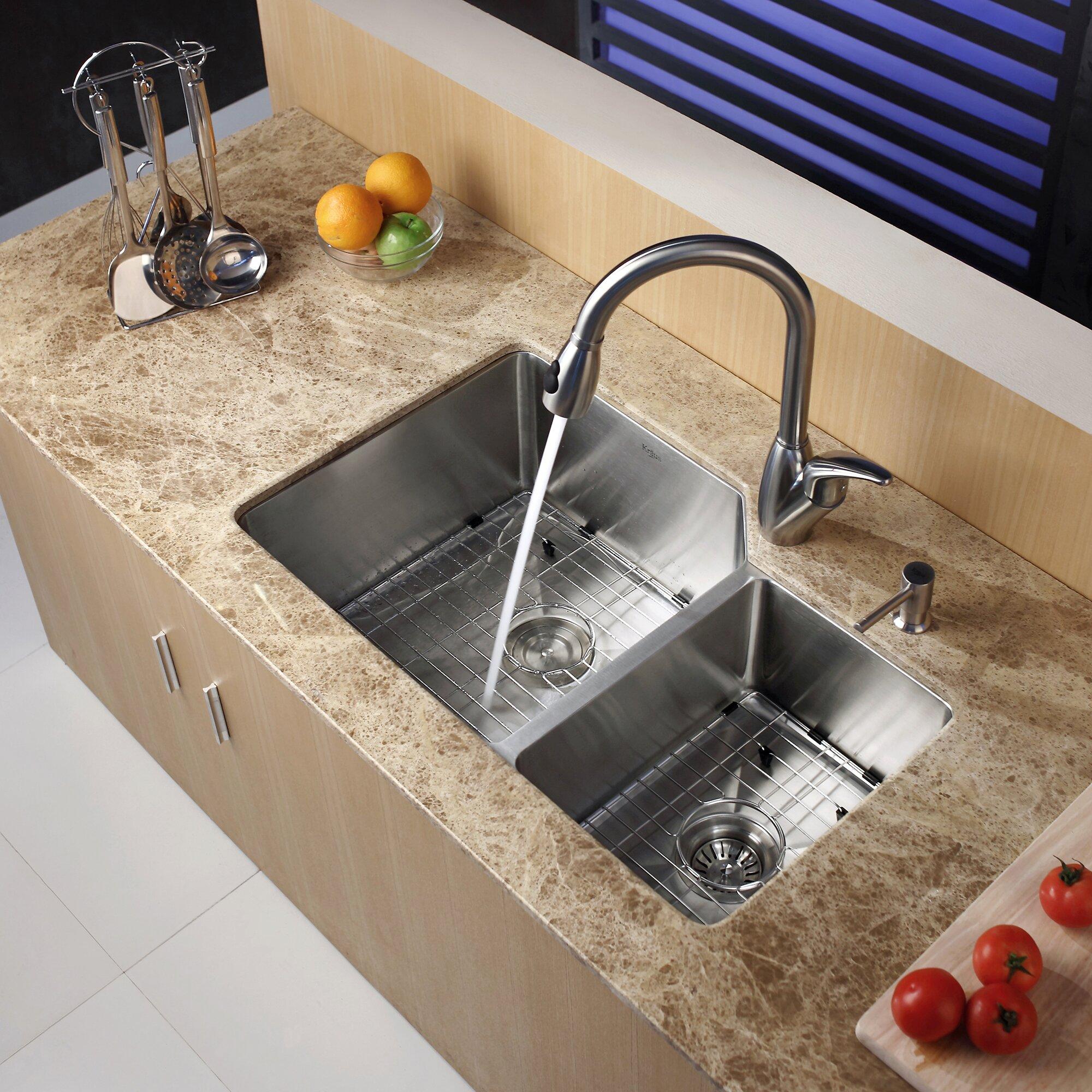 Kraus Kitchen Sinks Canada : Home Improvement Kitchen Fixtures ... Undermount Kitchen Sinks Kraus ...
