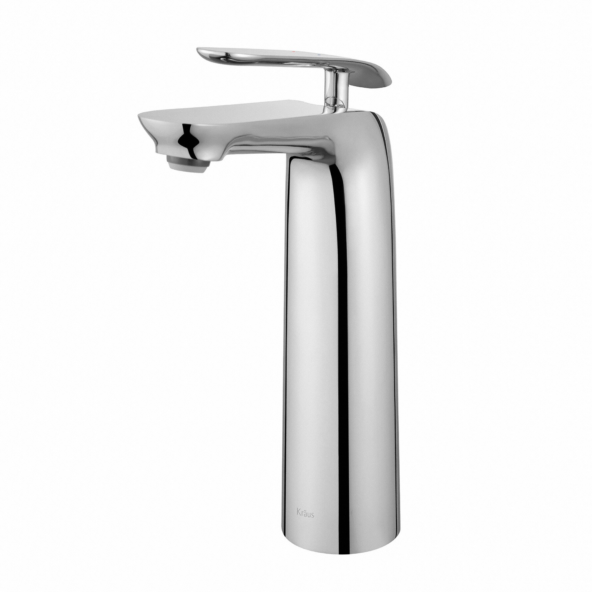 Kraus seda single hole single handle bathroom faucet for Single hole bathroom faucets