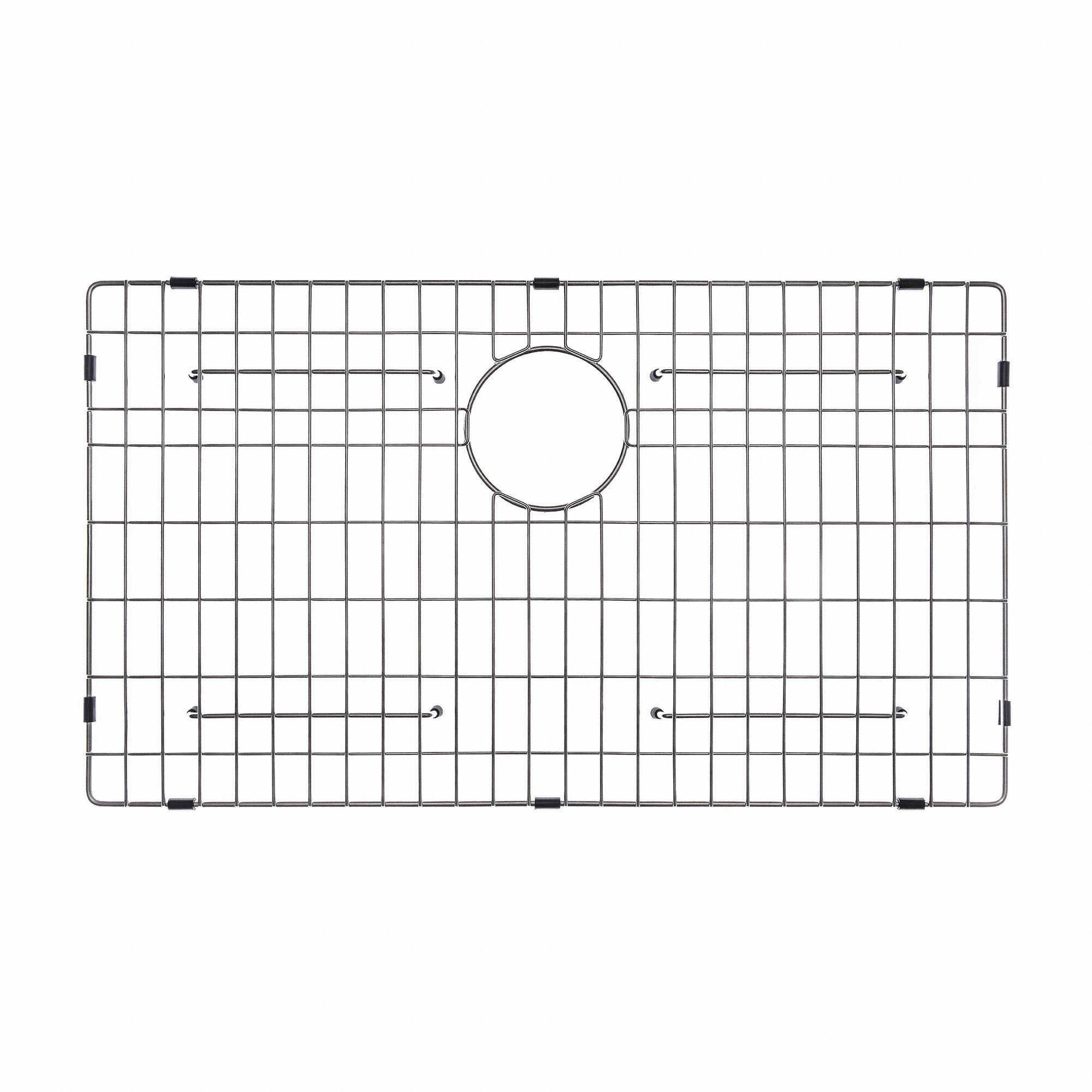 Kraus Sink Grid : Kraus Stainless Steel 27