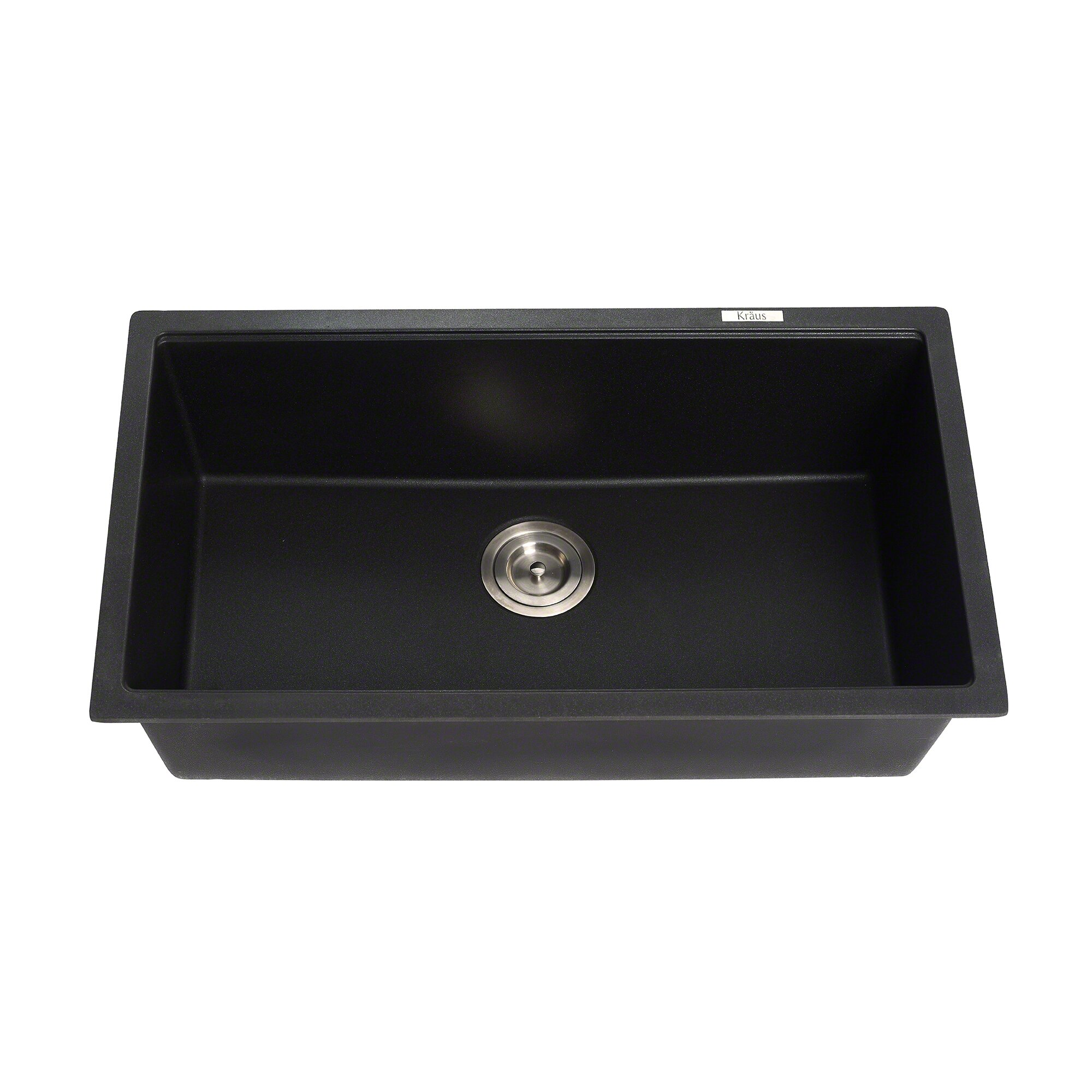 Granite Undermount Kitchen Sinks Kraus 31 X 1709 Granite Undermount Kitchen Sink Reviews Wayfair