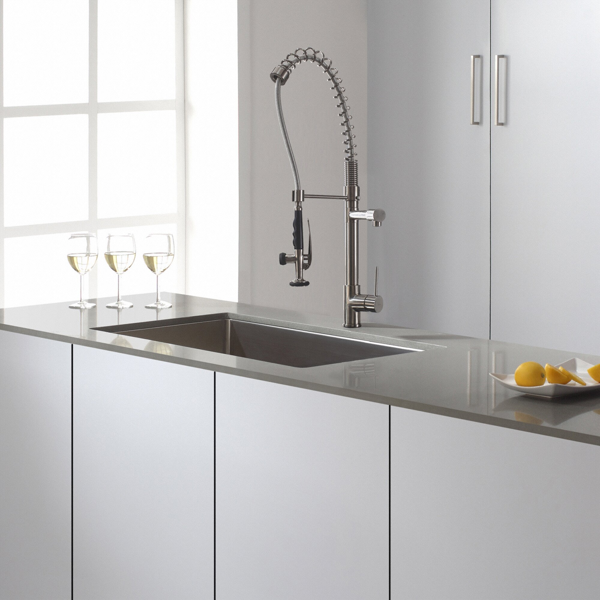 "Kitchen Sink Kraus: Kraus 32"" X 19"" Undermount Kitchen Sink & Reviews"
