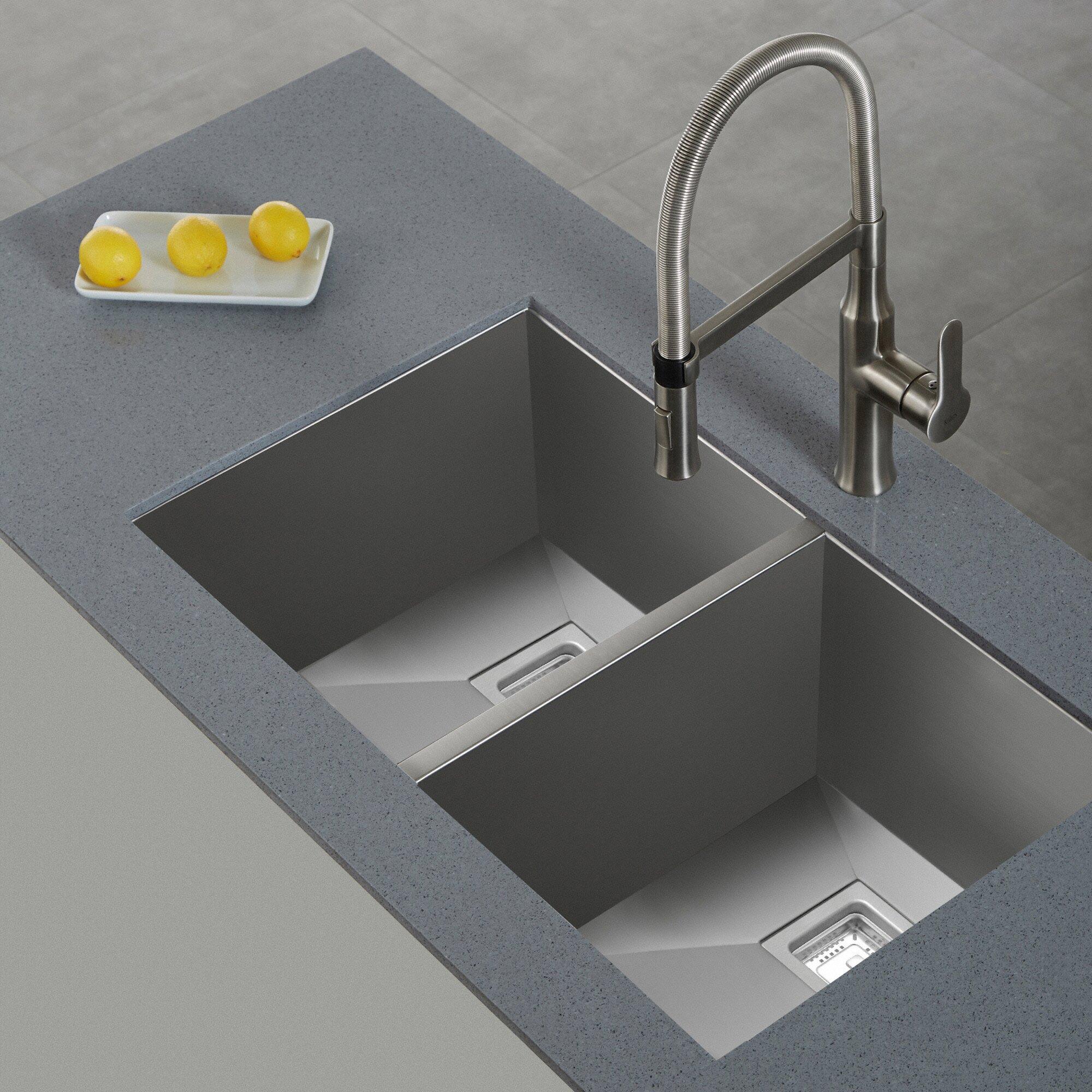 Where Are Kraus Sinks Manufactured : ... ... Undermount Kitchen Sinks Kraus Part #: KHU322 SKU: KUS3024
