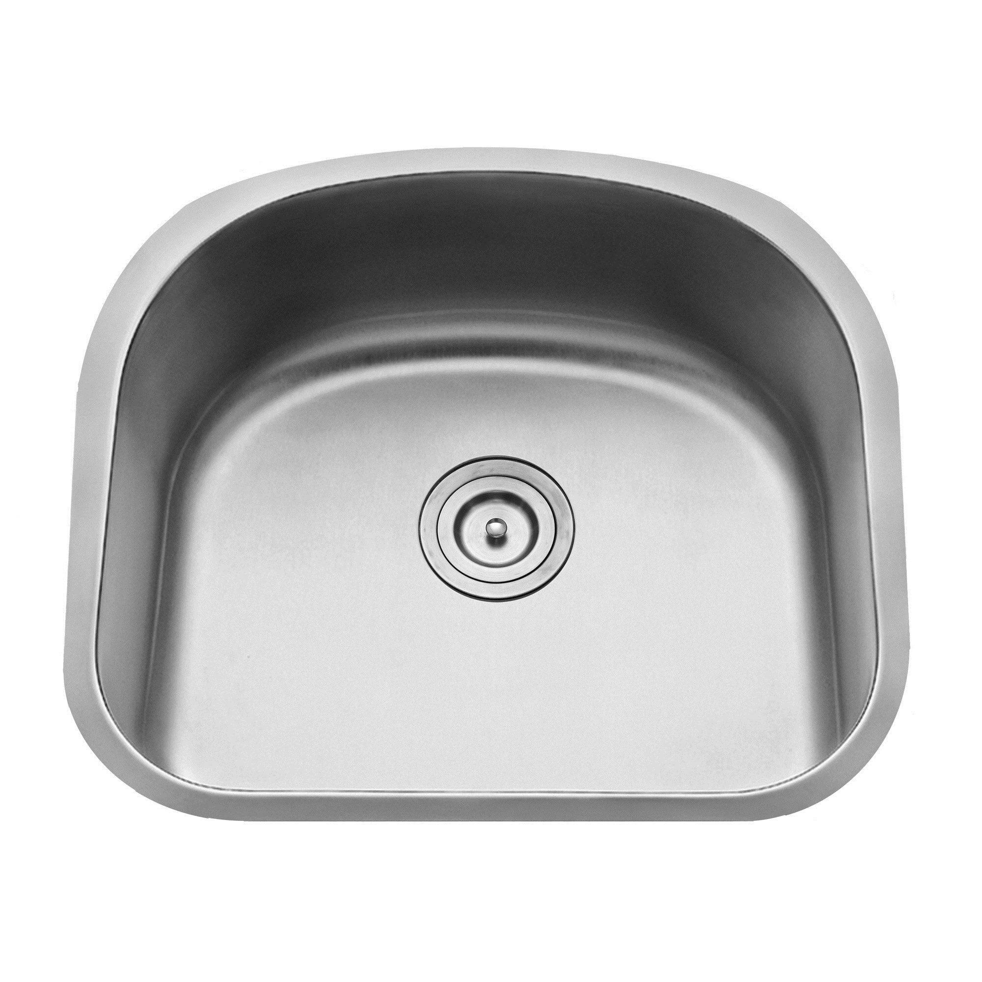 Kraus 23 Undermount Sink : Kraus 23.25