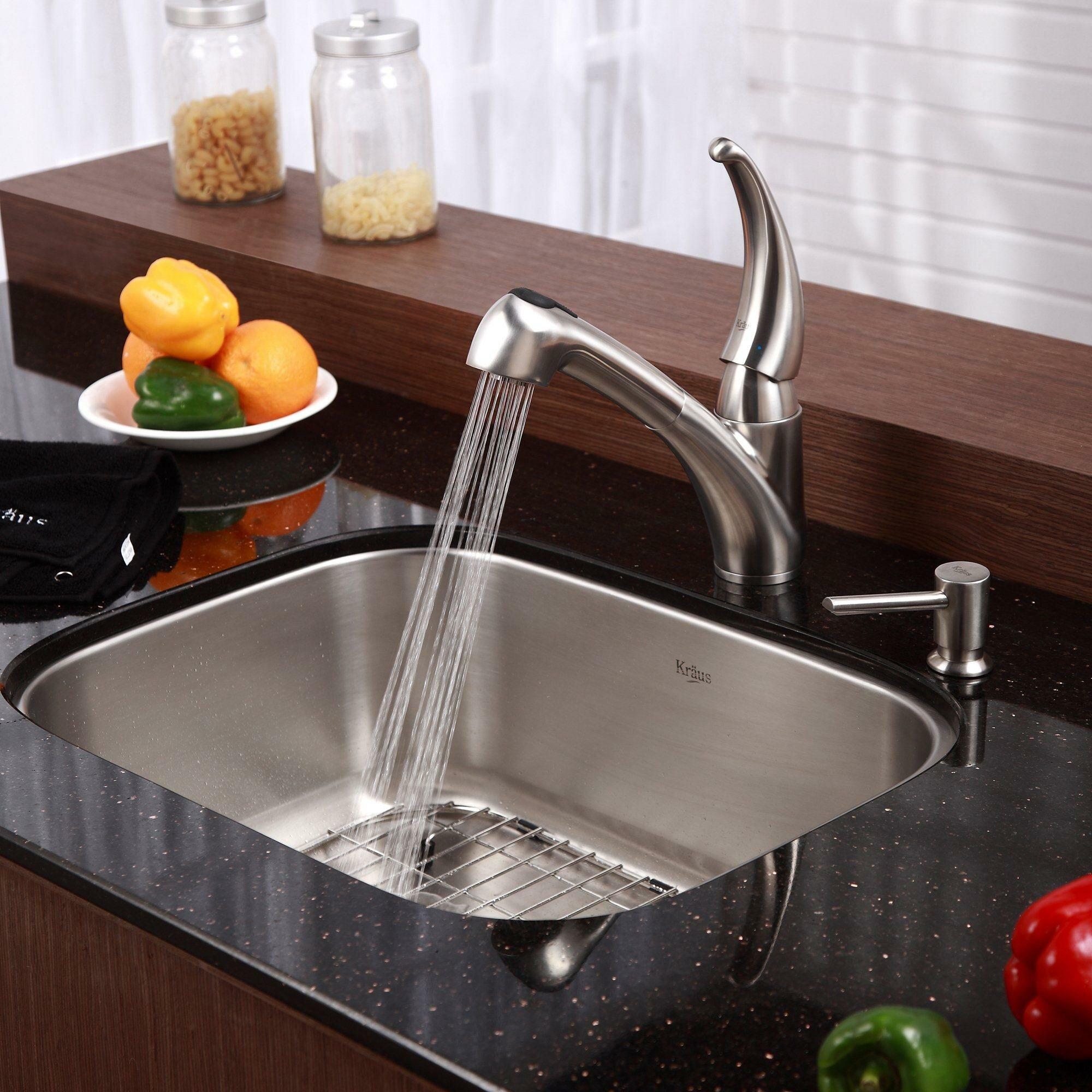 Kraus 23 Undermount Sink : Kraus 23